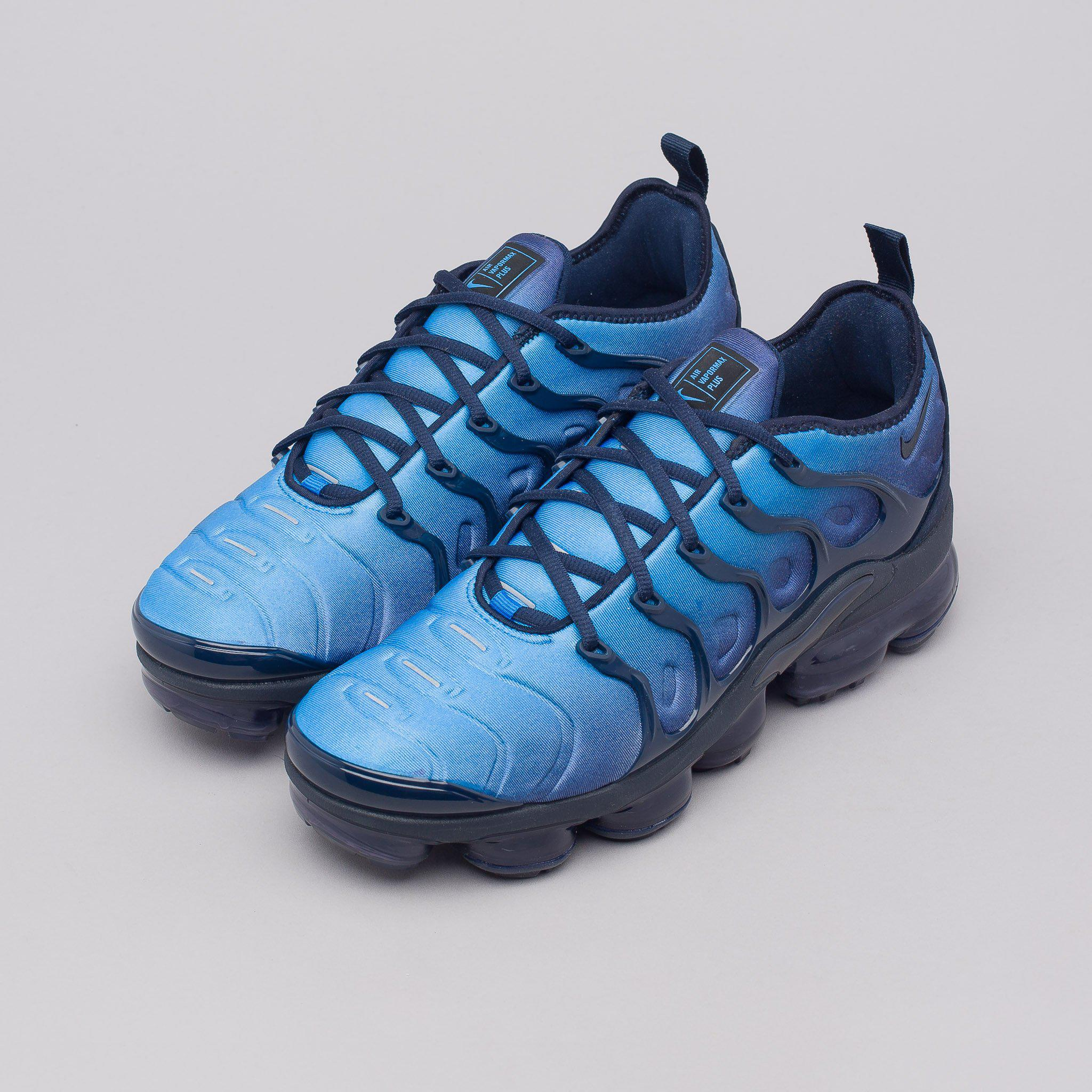 d1b41ef6579cd0 Lyst - Nike Air Vapormax Plus In Obsidian in Blue for Men