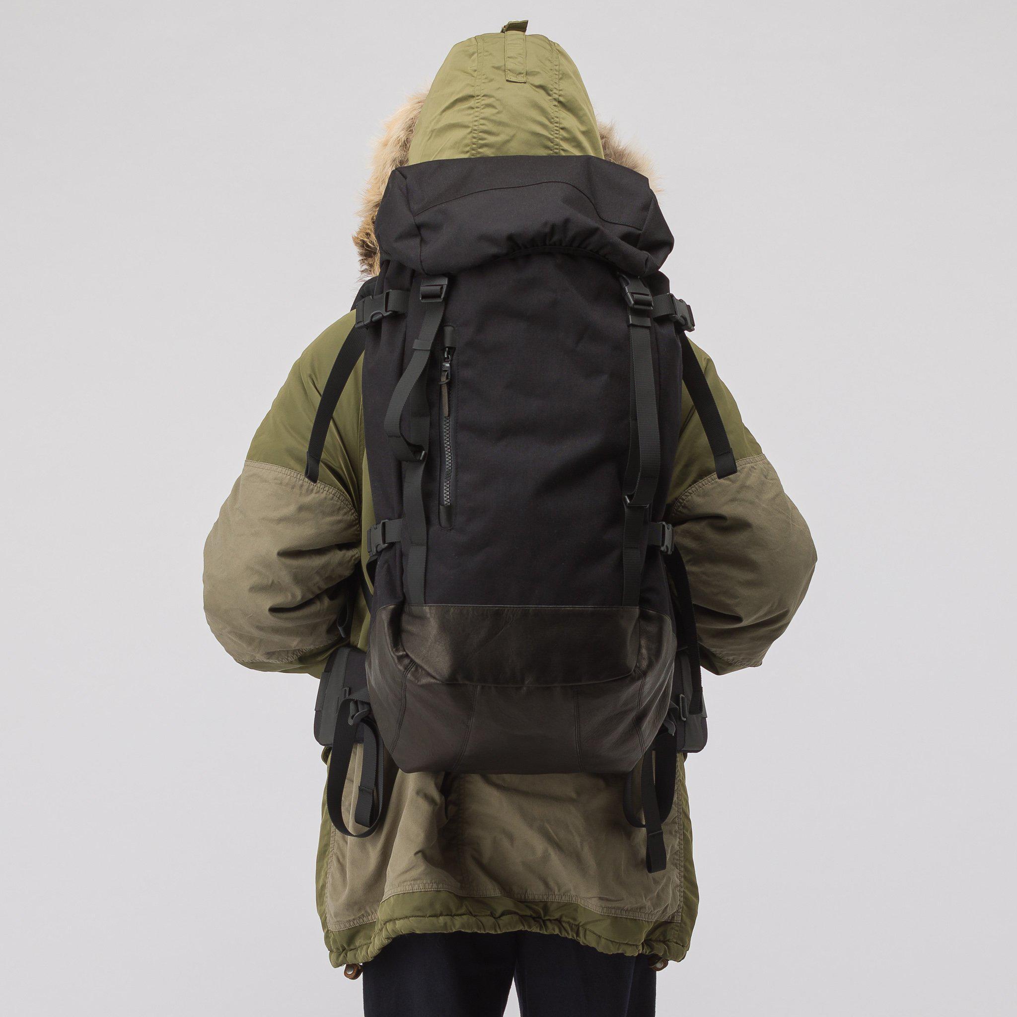 5b7031163 Visvim 55l Cordura Backpack Veg Lamb In Black in Black for Men - Lyst