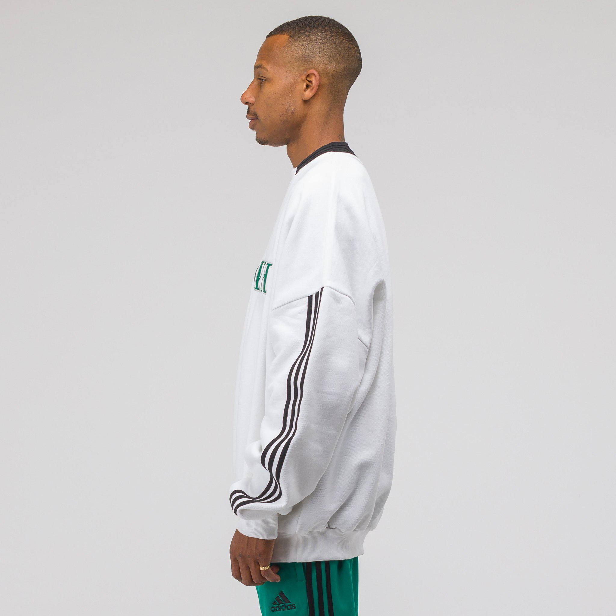d7da25c6c Gosha Rubchinskiy X Adidas Sweat Top In White green in White for Men ...