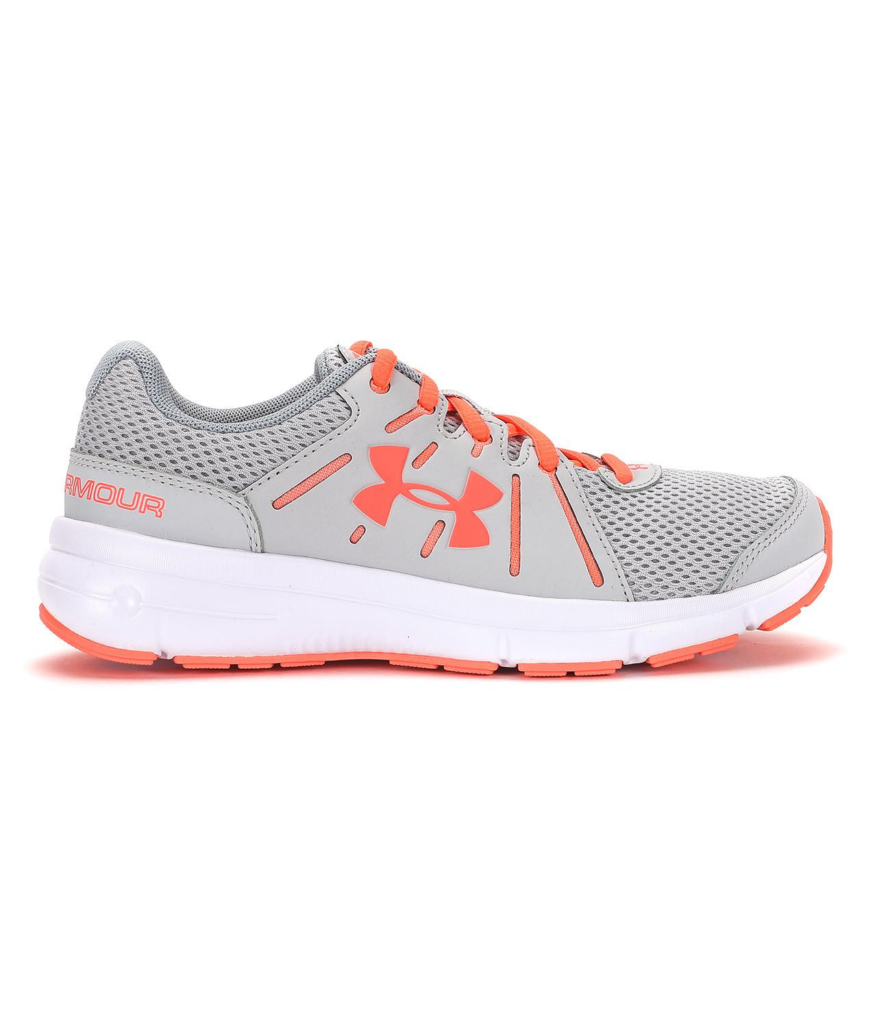 Brand New Unisex Under Armour Dash RN 2 Running Shoe(Women's) -Apollo Gray/White/Blue Infinity Order For Sale Free Shipping Supply With Credit Card Free Shipping AXw4p72Fn