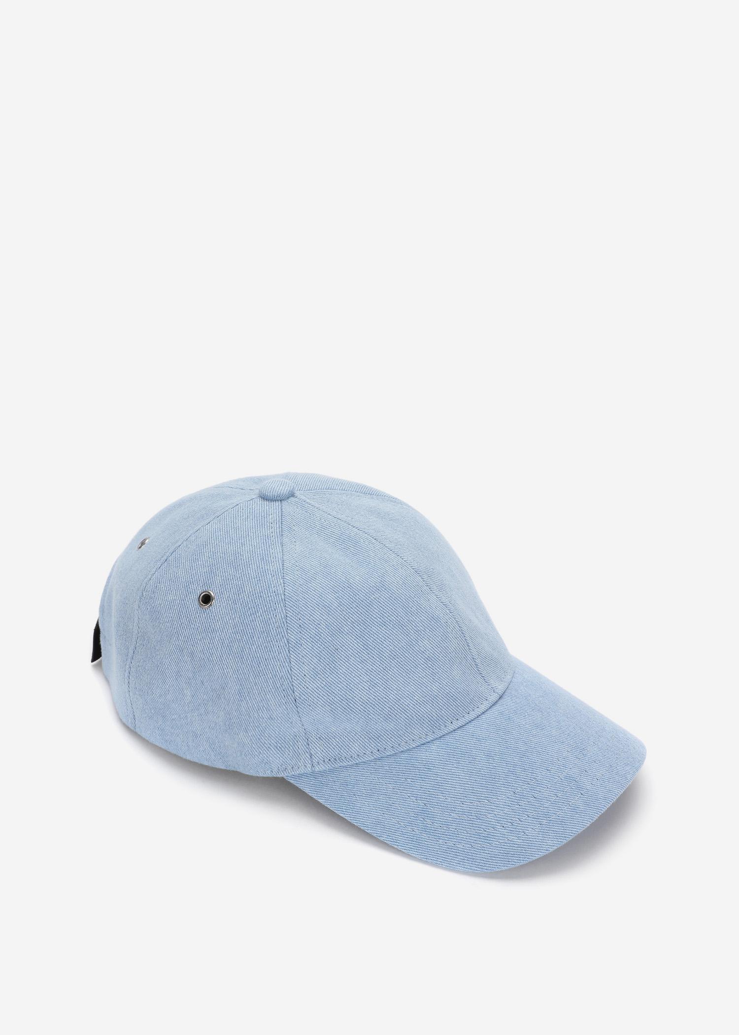 07bb17b556b A.P.C. Alex Baseball Cap in Blue for Men - Lyst