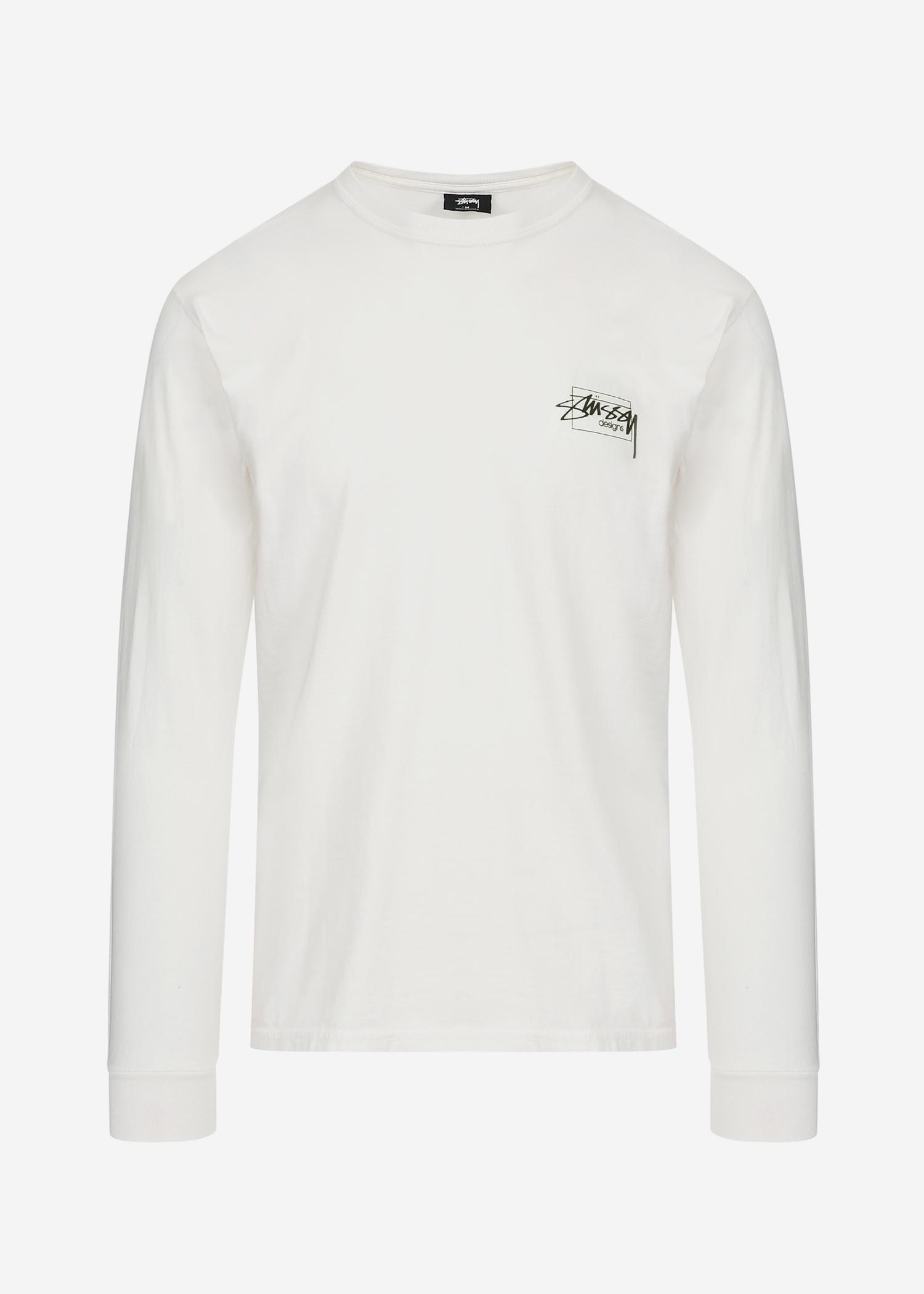 767dce000a Lyst - Stussy Modern Age Pig. Dyed L/s T-shirt in Natural for Men