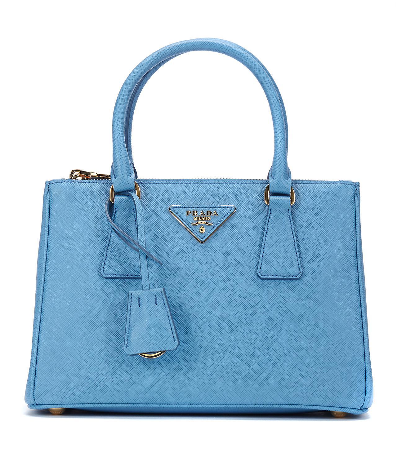 ... handbags ac7e4 41c9e  official store prada. blue 17ss womens saffiano  lux small galleria bag 1ba896 mare 99ee5 e1542 7fd2d8401c481