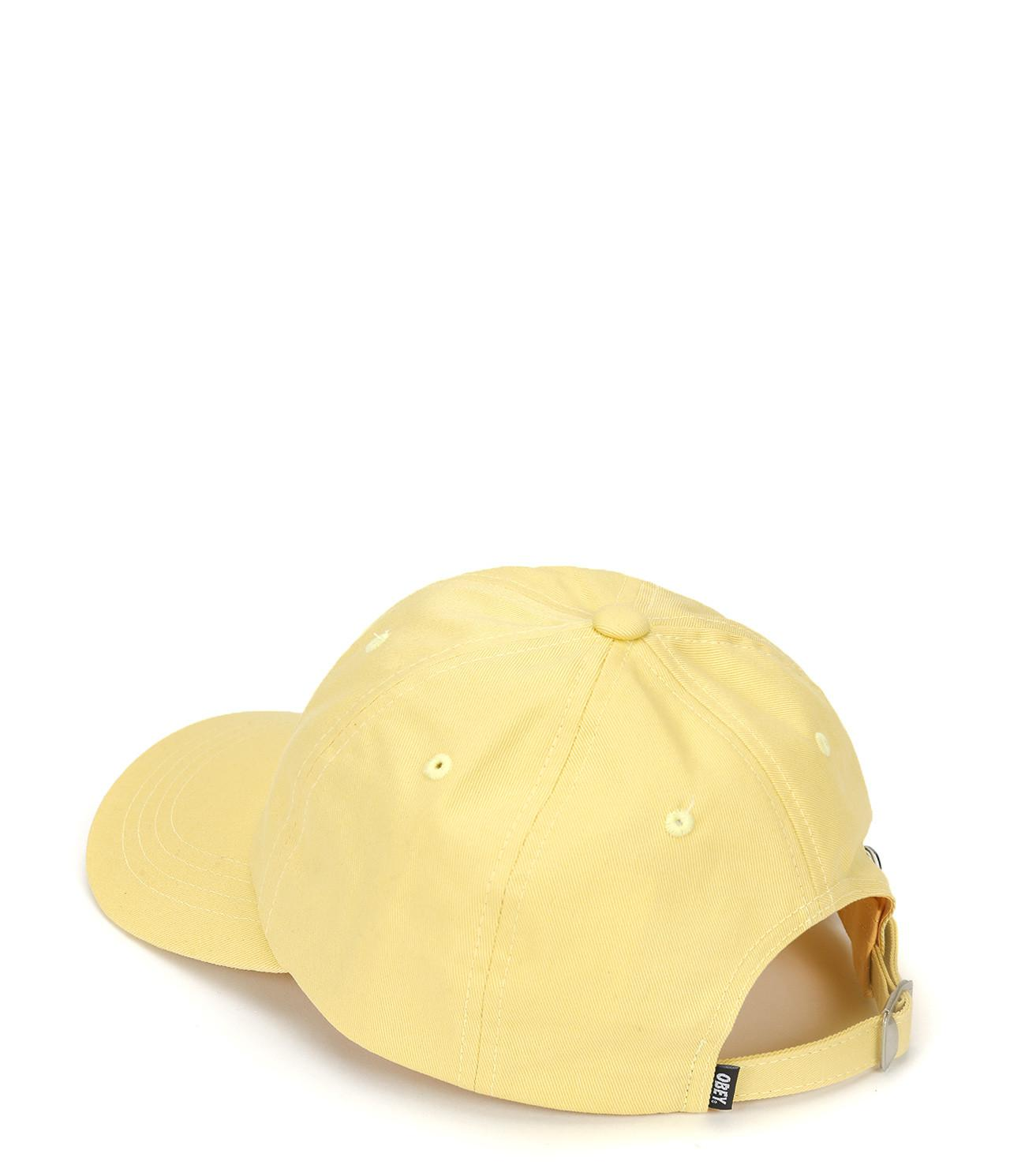 2d49a16e92c Lyst - Obey Jumble Bar Iii 6 Panel Hat in Yellow for Men