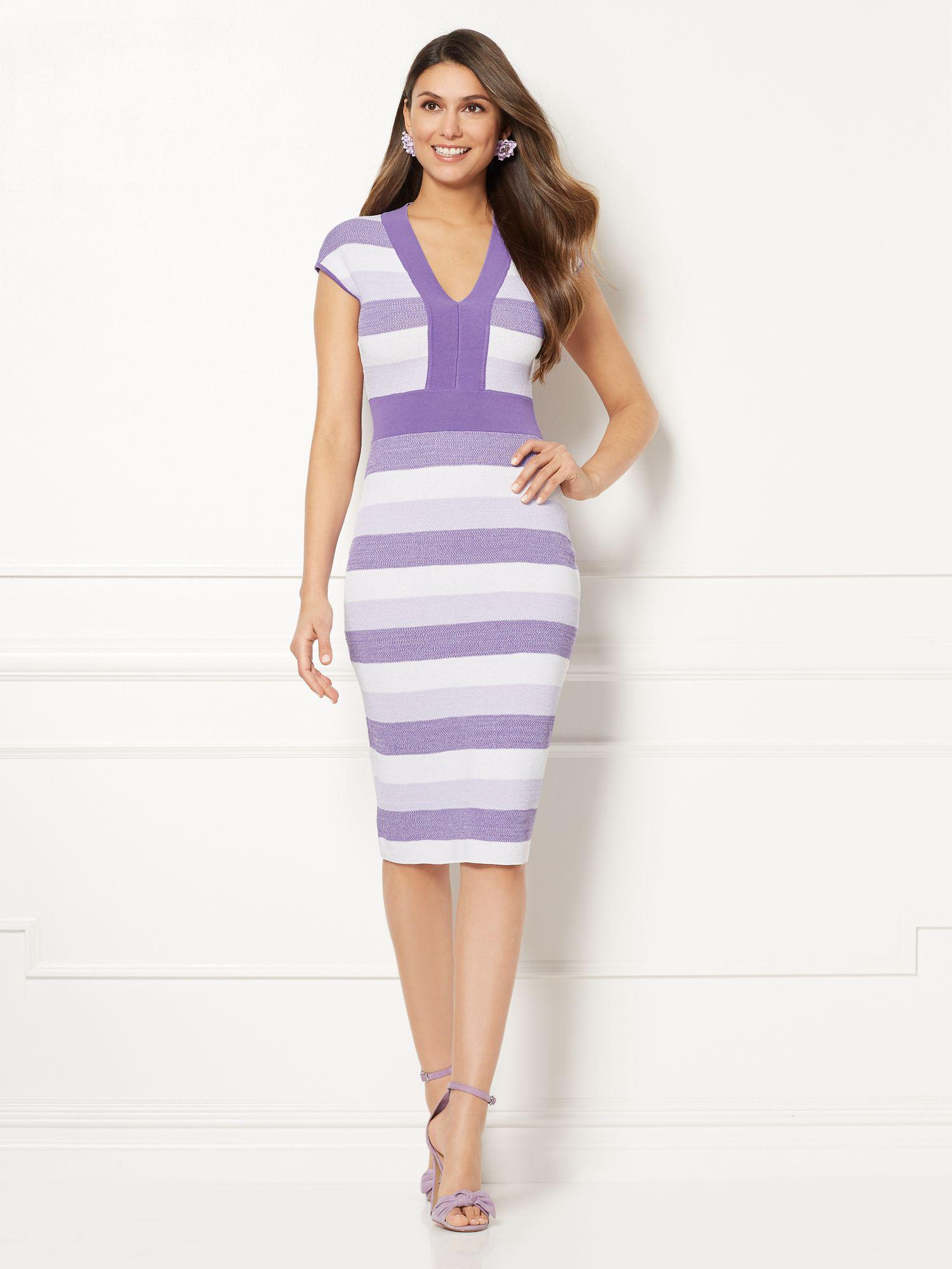4272f9713a3 New York   Company Eva Mendes Collection - Francisca Sweater Dress ...