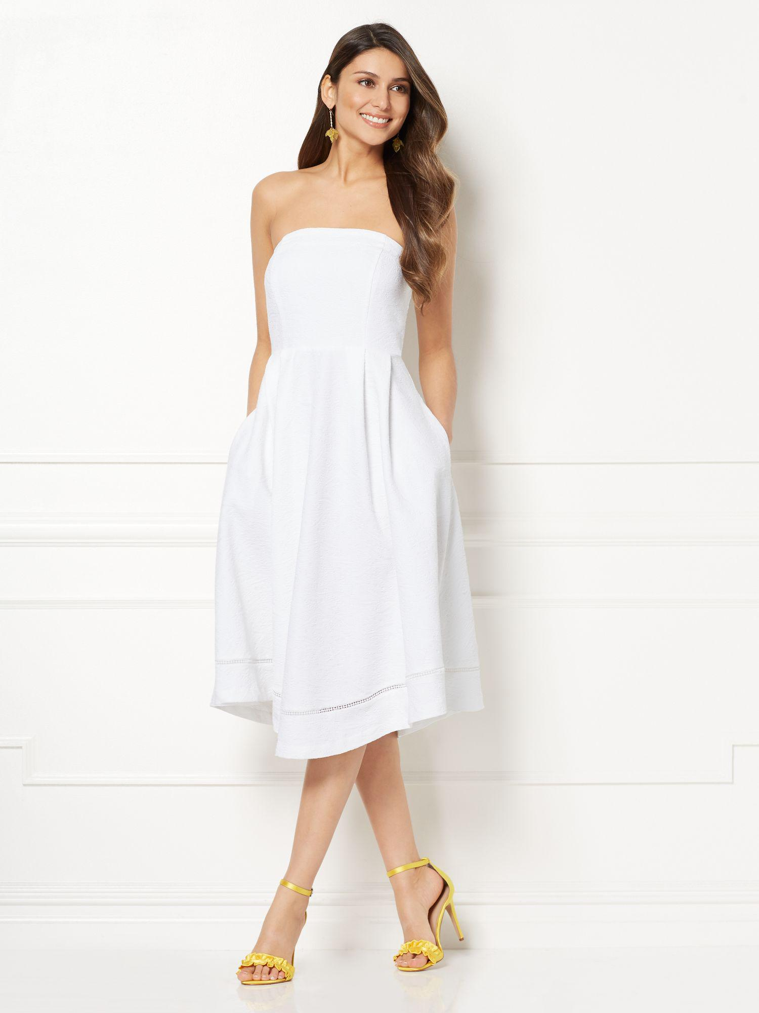 2f63ffbbf3 New York   Company Eva Mendes Collection - Megan Strapless Dress in ...