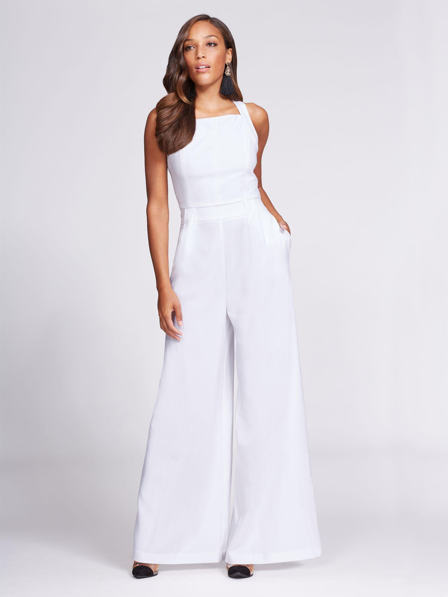 f764b7a4f792 Lyst - New York   Company Gabrielle Union Collection - Jumpsuit in White