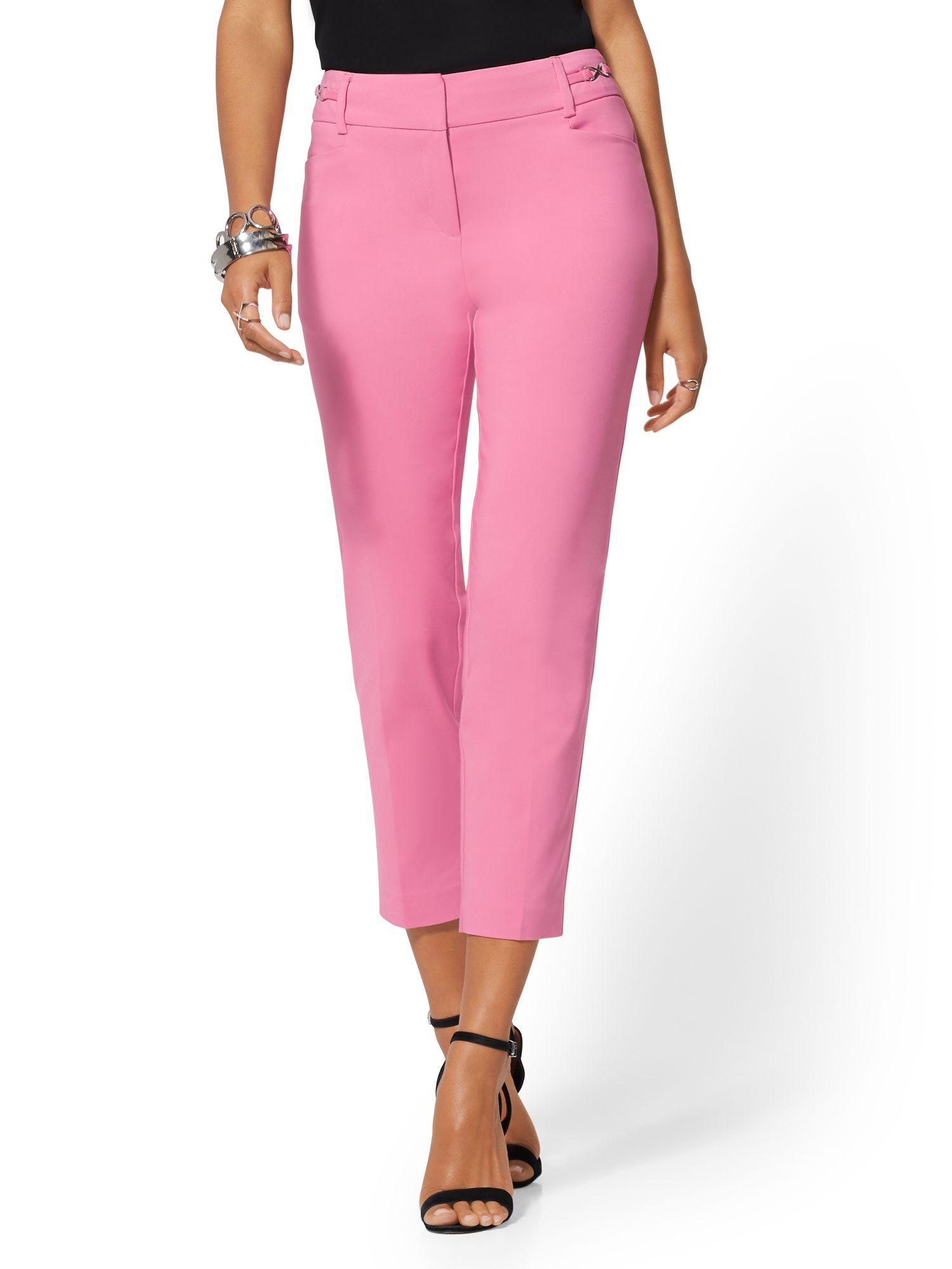 fcbdb9fce792ac New York & Company Hardware-accent Ankle Pant - Modern Fit - All ...