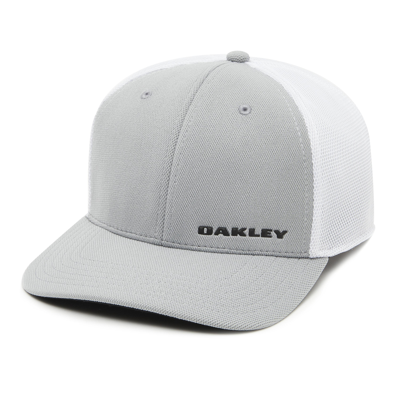 Lyst - Oakley Silicon Bark Trucker 4.0 Golf Hat in Gray for Men c07cde3a648