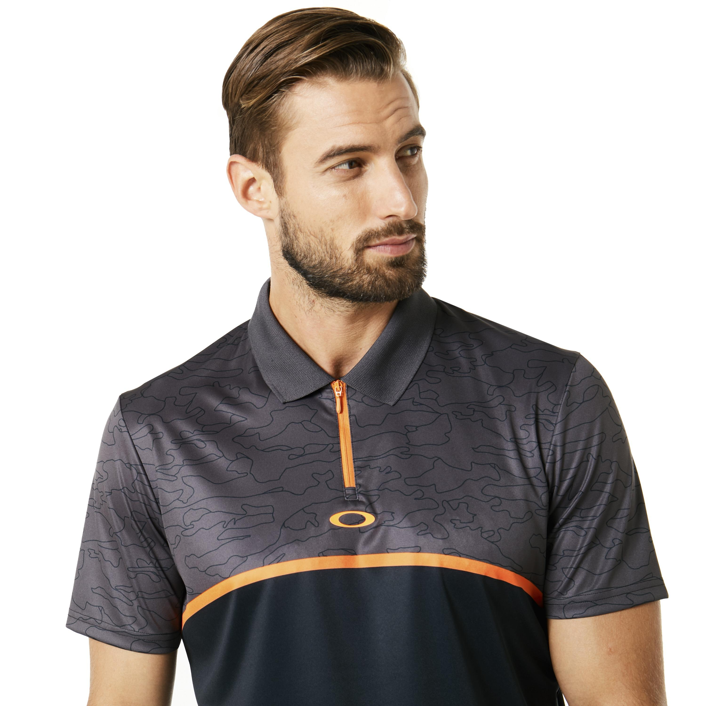 75aca65b08 Oakley - Multicolor Polo Shirt Ss Color Block Camou for Men - Lyst. View  fullscreen
