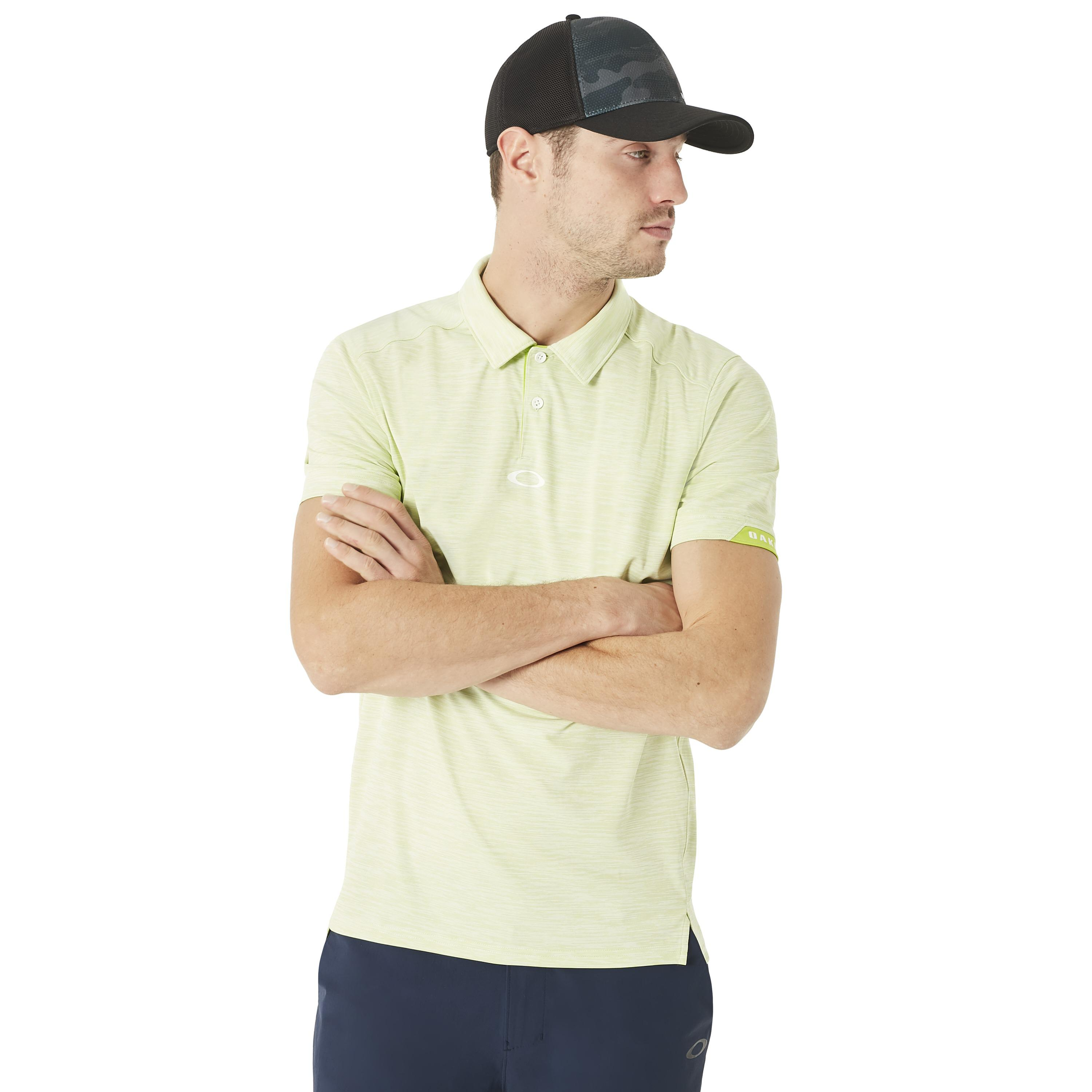 c308bbe620 Lyst - Oakley Gravity Golf Polo in Green for Men