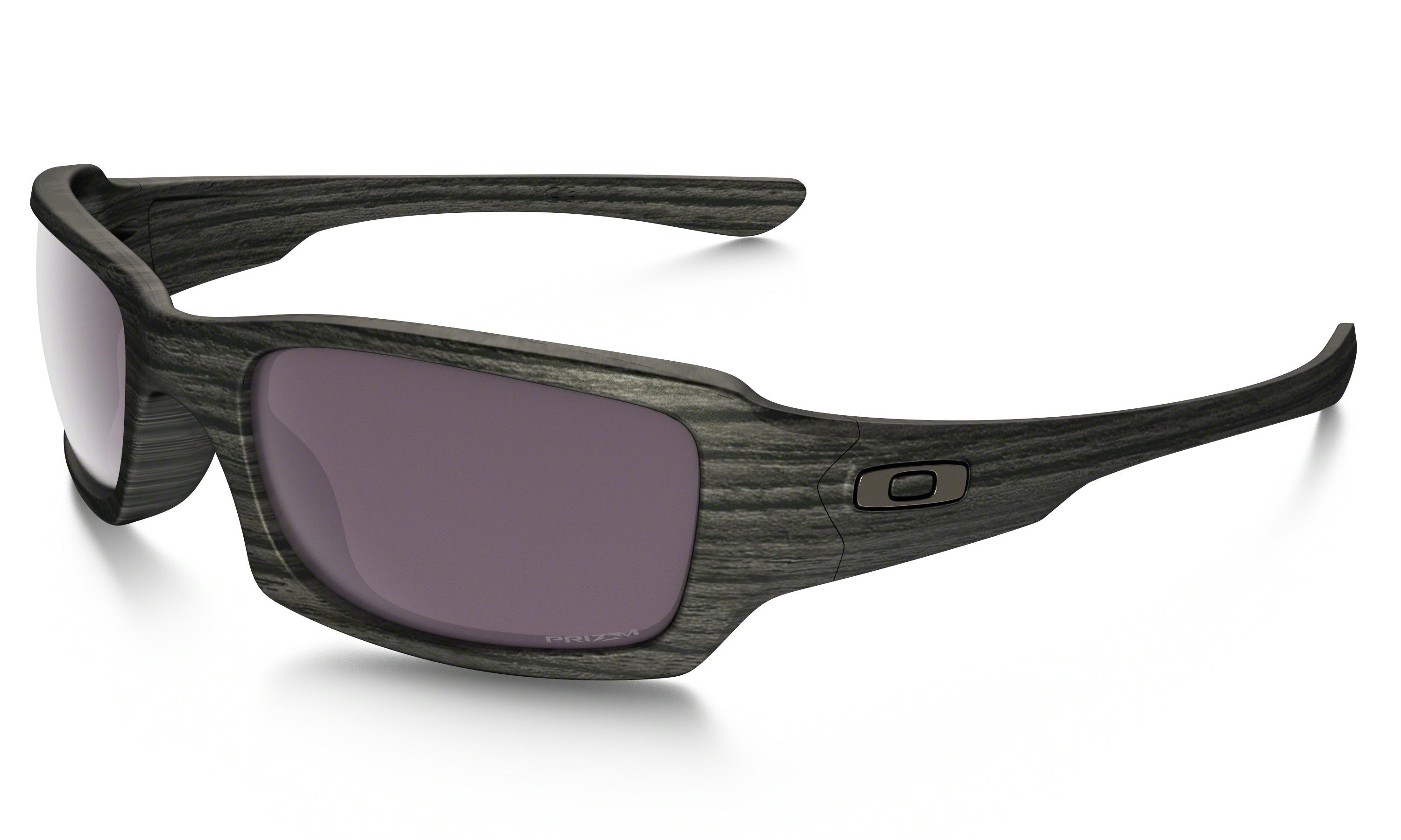 5395f88500 spain lyst oakley fives squaredtm prizmtm daily polarized woodgrain 41af6  ee4b1