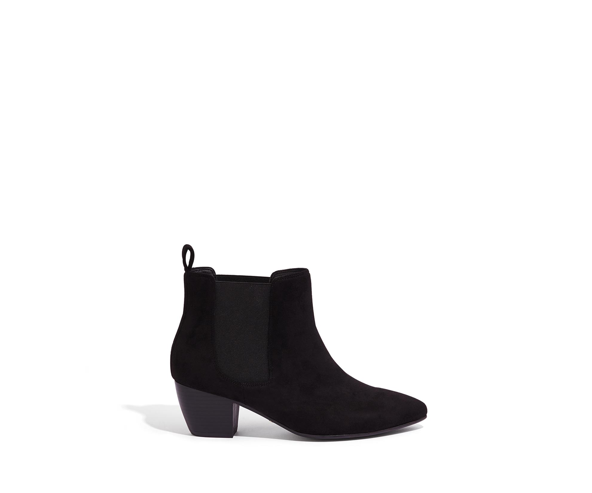 44f591e667d3 Oasis Camilla Cuban Heel Boot in Black - Lyst