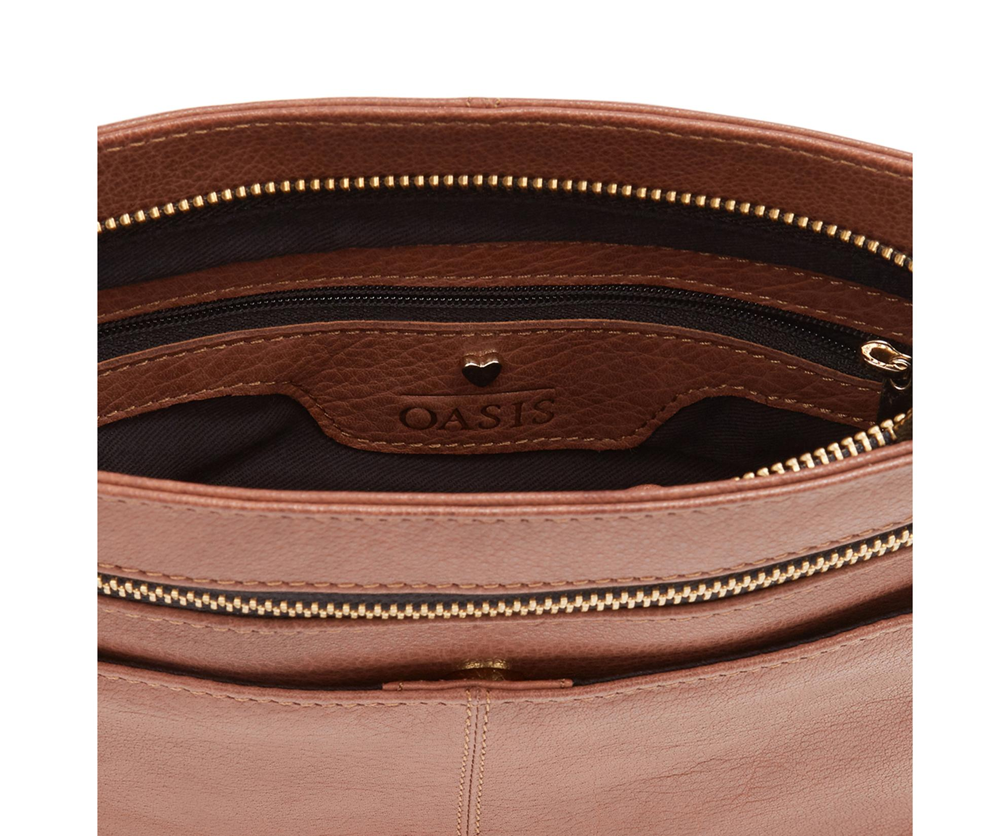 00829244ced4 Lyst - Oasis Leather Anais X Body - Tan