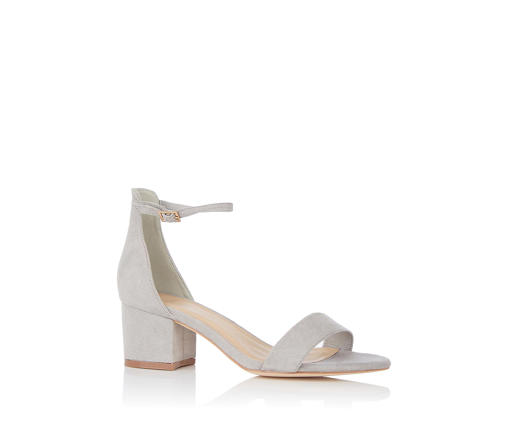 4e033f1741a3 Oasis Jane Block Sandal in Gray - Lyst