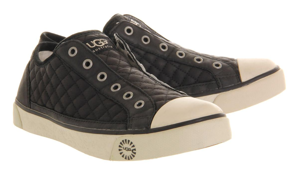 Lyst Ugg Laela Quilted Sneaker In Black