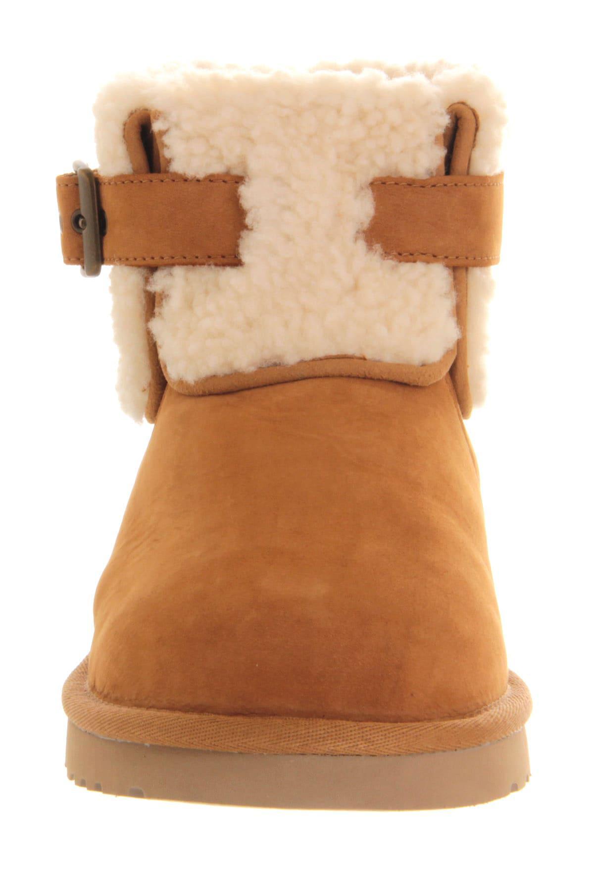 Lyst - Ugg Jocelin Short Suede Boots