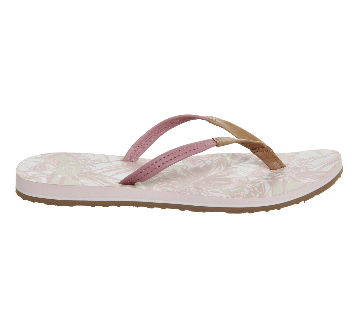 ugg magnolia flip flops in pink lyst. Black Bedroom Furniture Sets. Home Design Ideas