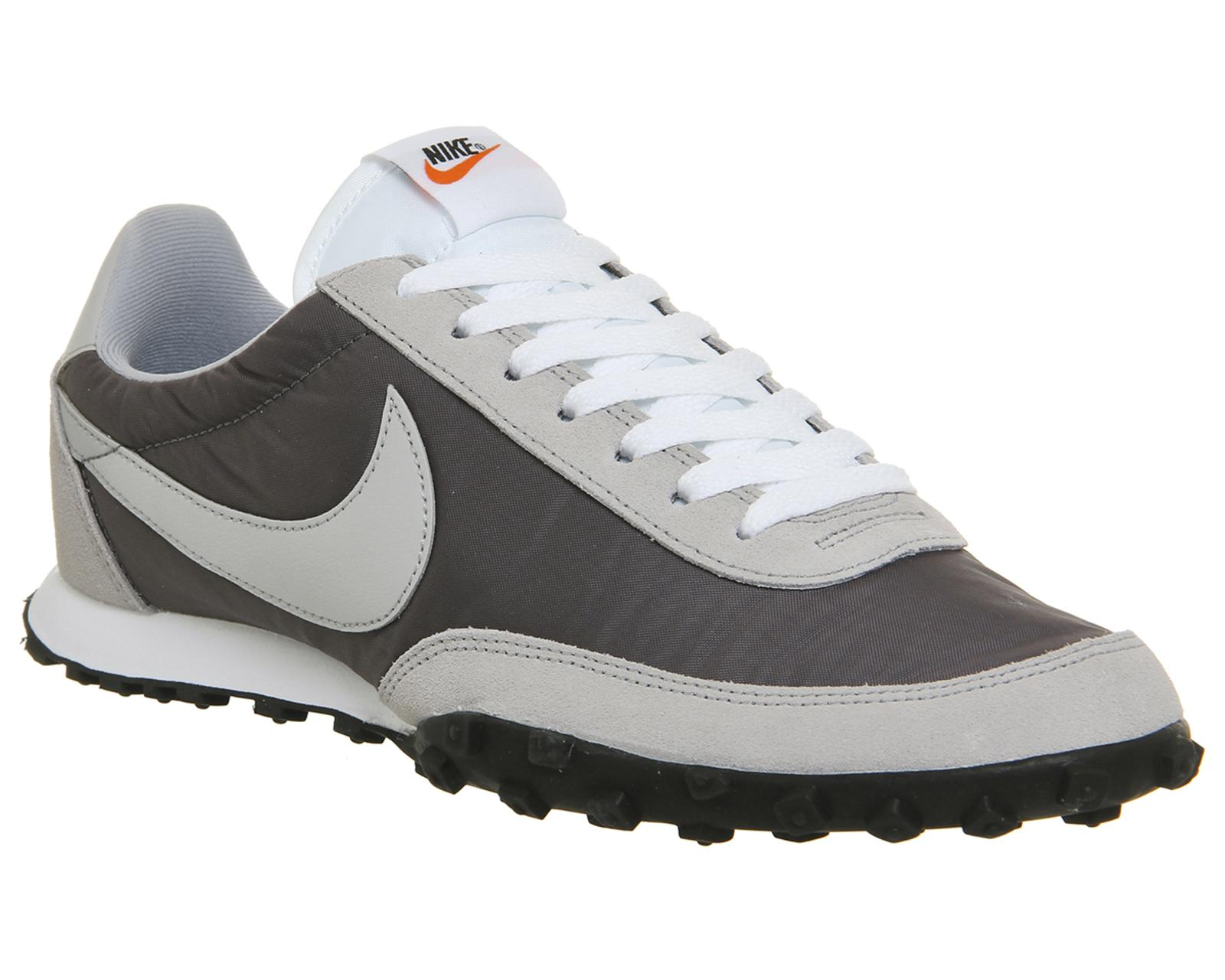nike waffle racer in gray for men lyst. Black Bedroom Furniture Sets. Home Design Ideas