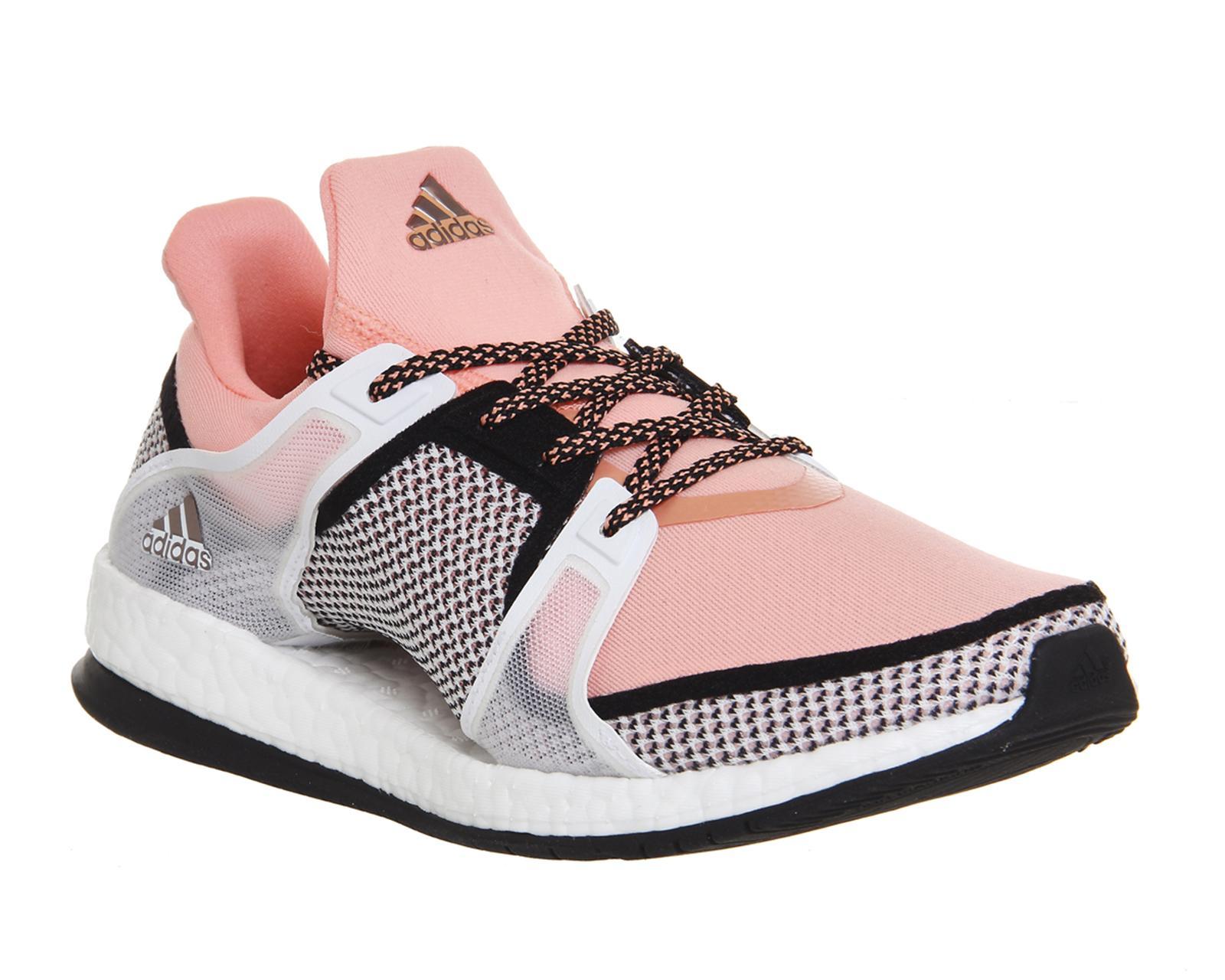 super popular 9fa9a c7cfc Lyst - adidas Originals Pure Boost X Tr in Pink