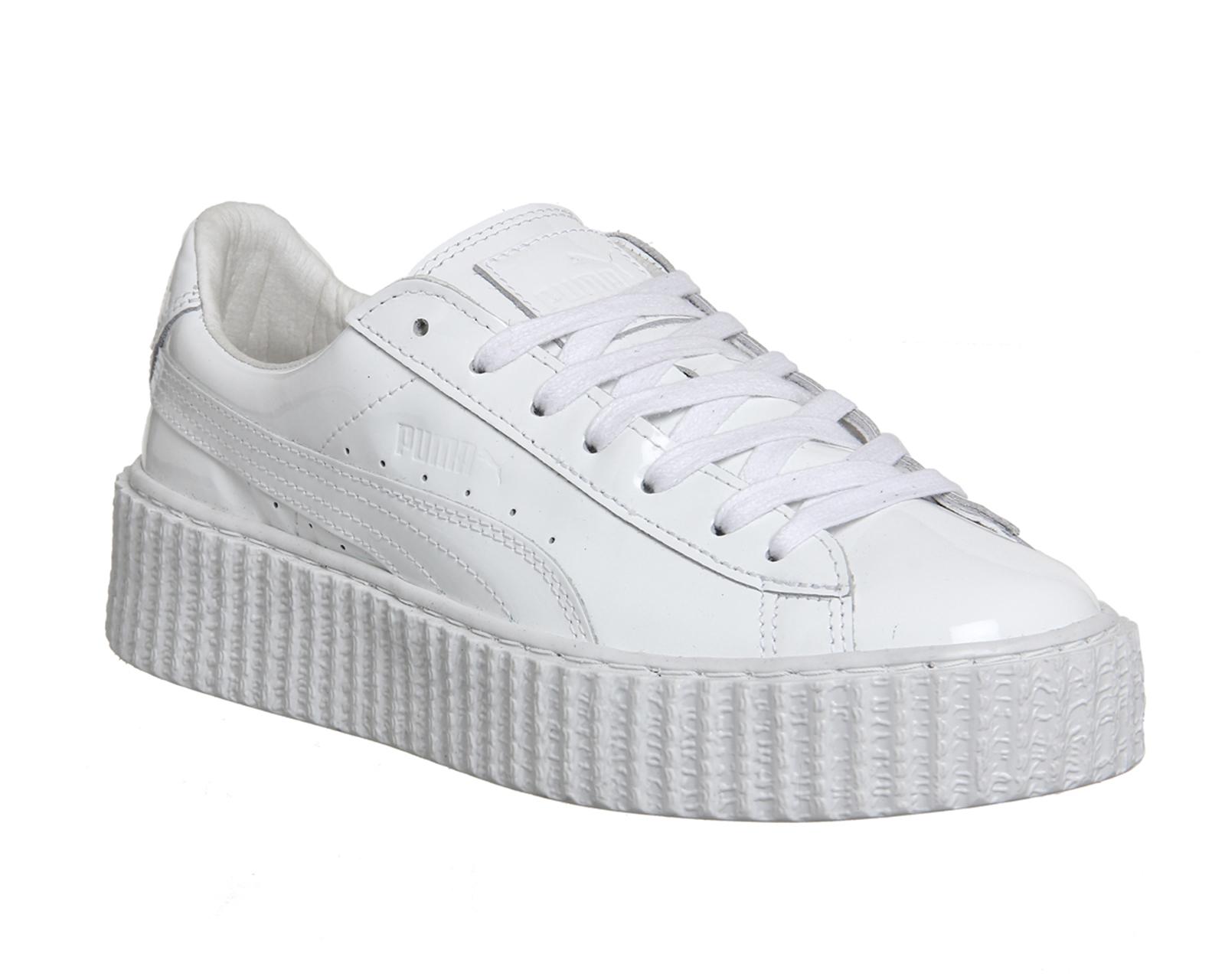 Puma Basket Creepers in White  05aedea74