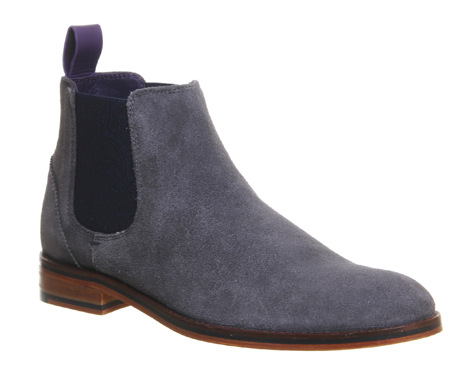 ted baker camroon 4 chelsea boots in gray for men grey lyst. Black Bedroom Furniture Sets. Home Design Ideas