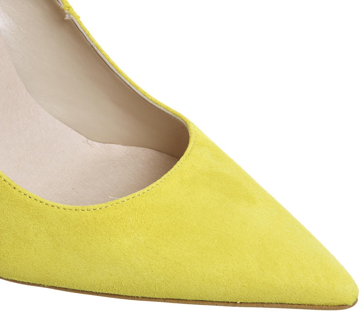 2fe8212f43b Lyst - Office Hattie Point Court Heels in Yellow