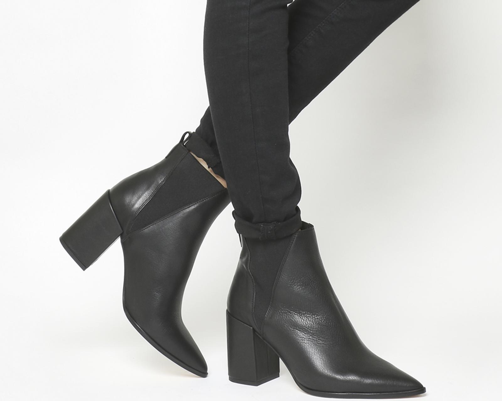 934b479adfe Office Amaze High Cut Chelsea Boots in Black - Lyst