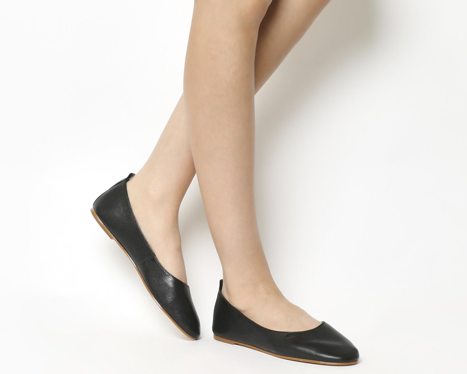 882af5e220eb Lyst - Office Primrose Ballerina Flats in Black