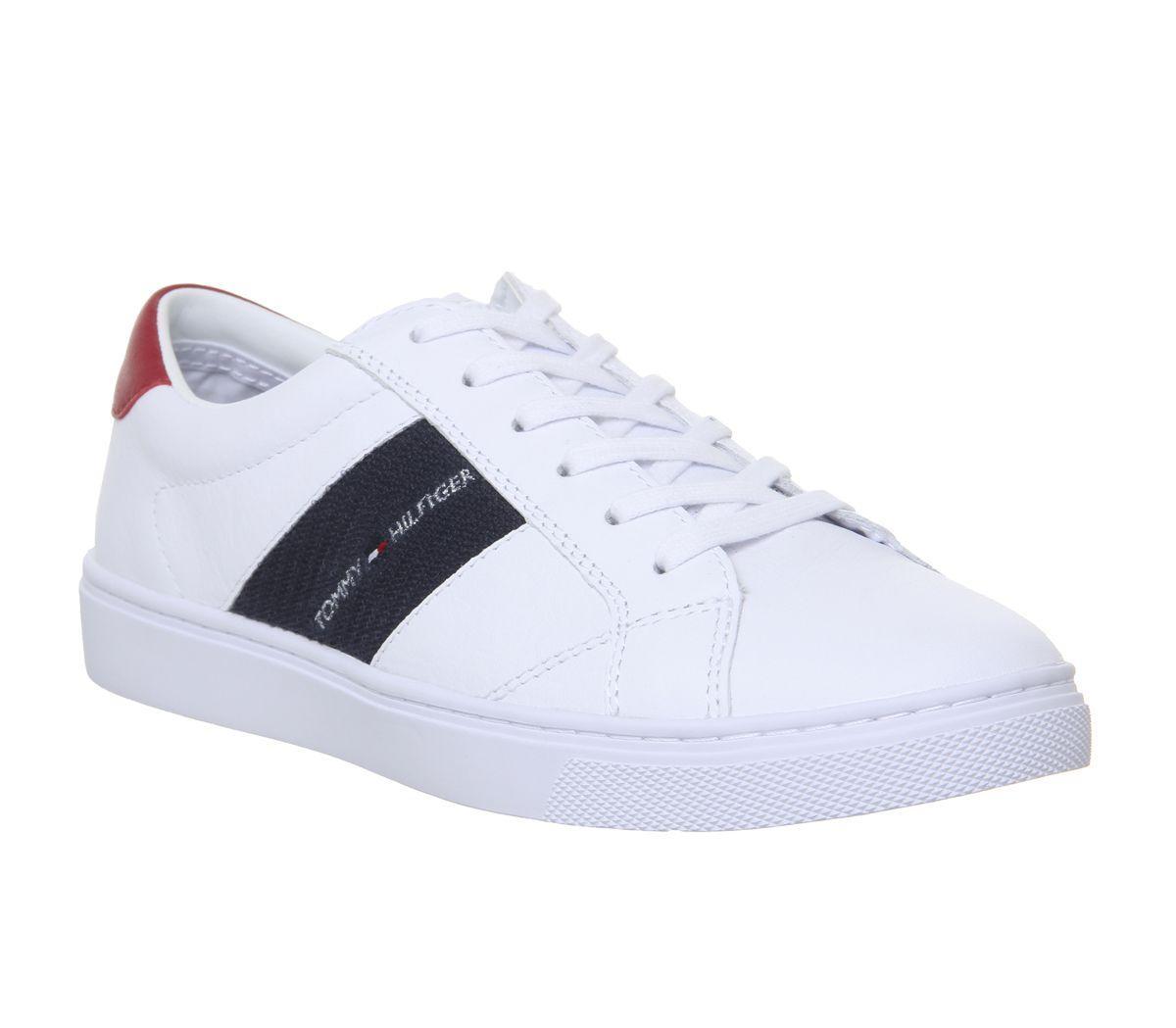 7f2e0e7a4549e Tommy Hilfiger Badge Sneaker in White - Lyst