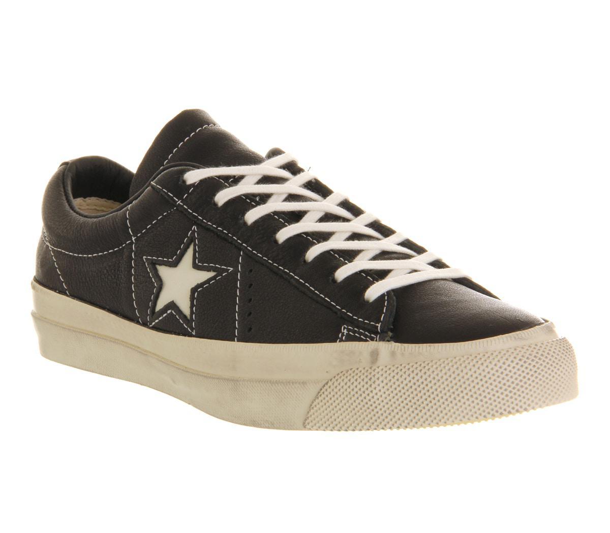 842dcf16e7ee2b Lyst - Converse John Varvatos One Star in Black