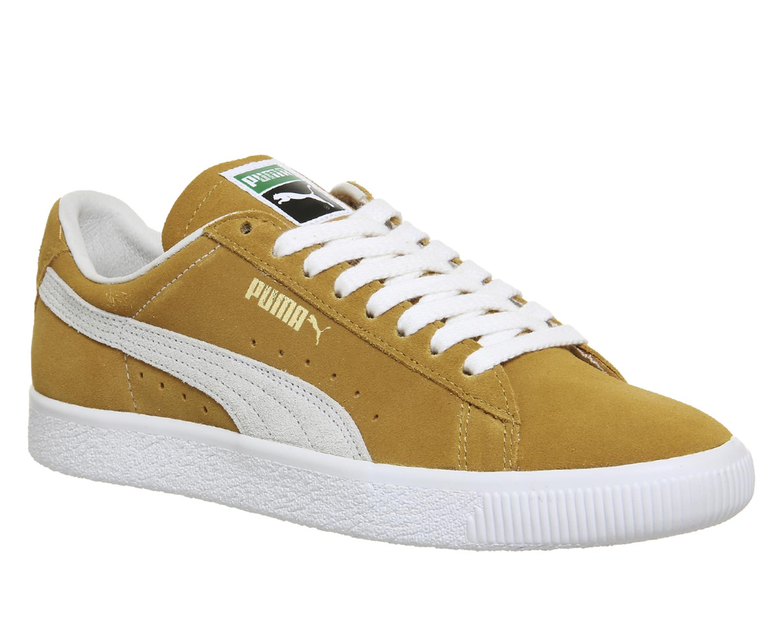 9251bece4750 Lyst - PUMA Suede Classic Trainers in White for Men