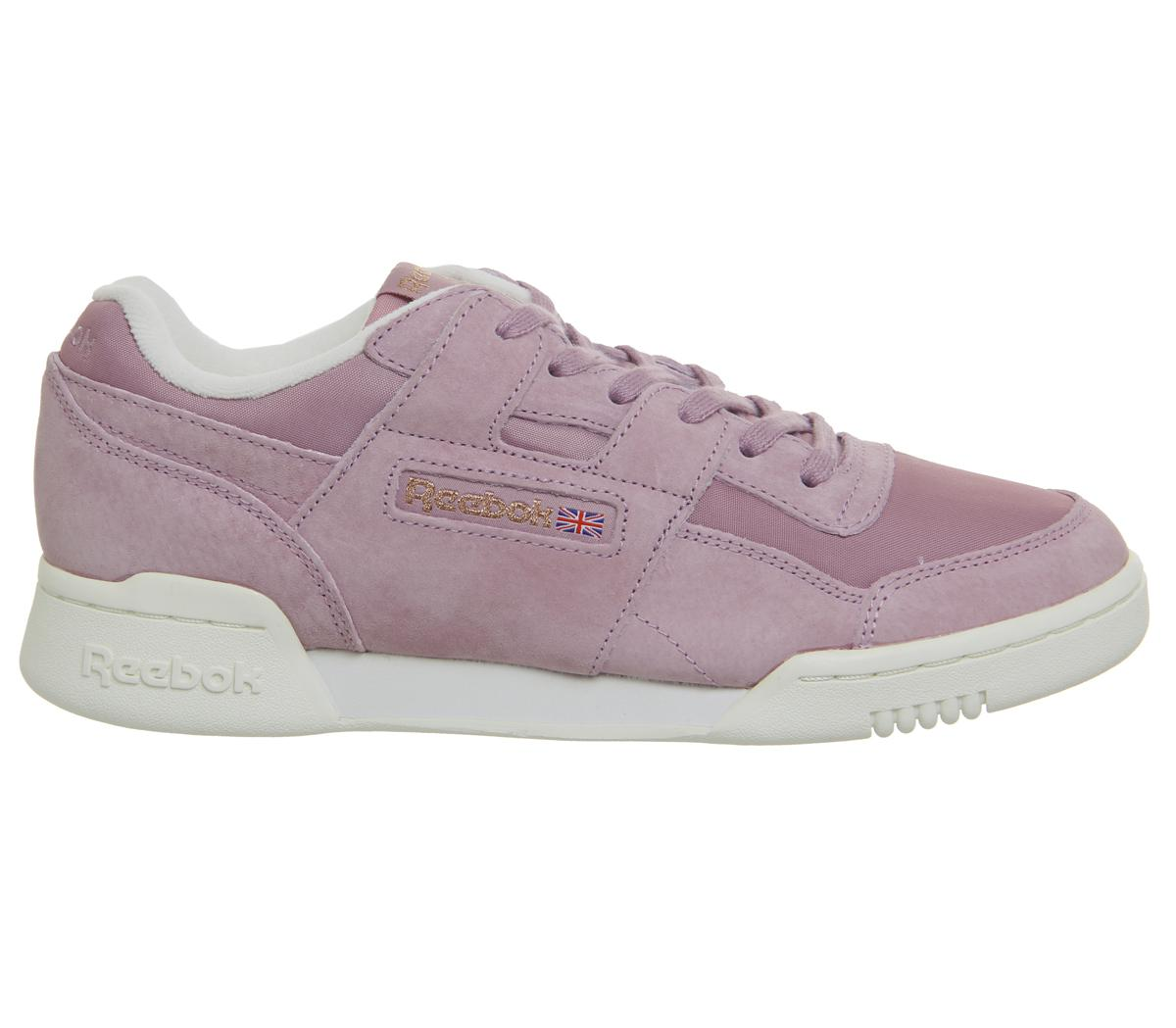 b4ab3a138bc Reebok Workout Lo Plus in Purple - Save 22.22222222222223% - Lyst