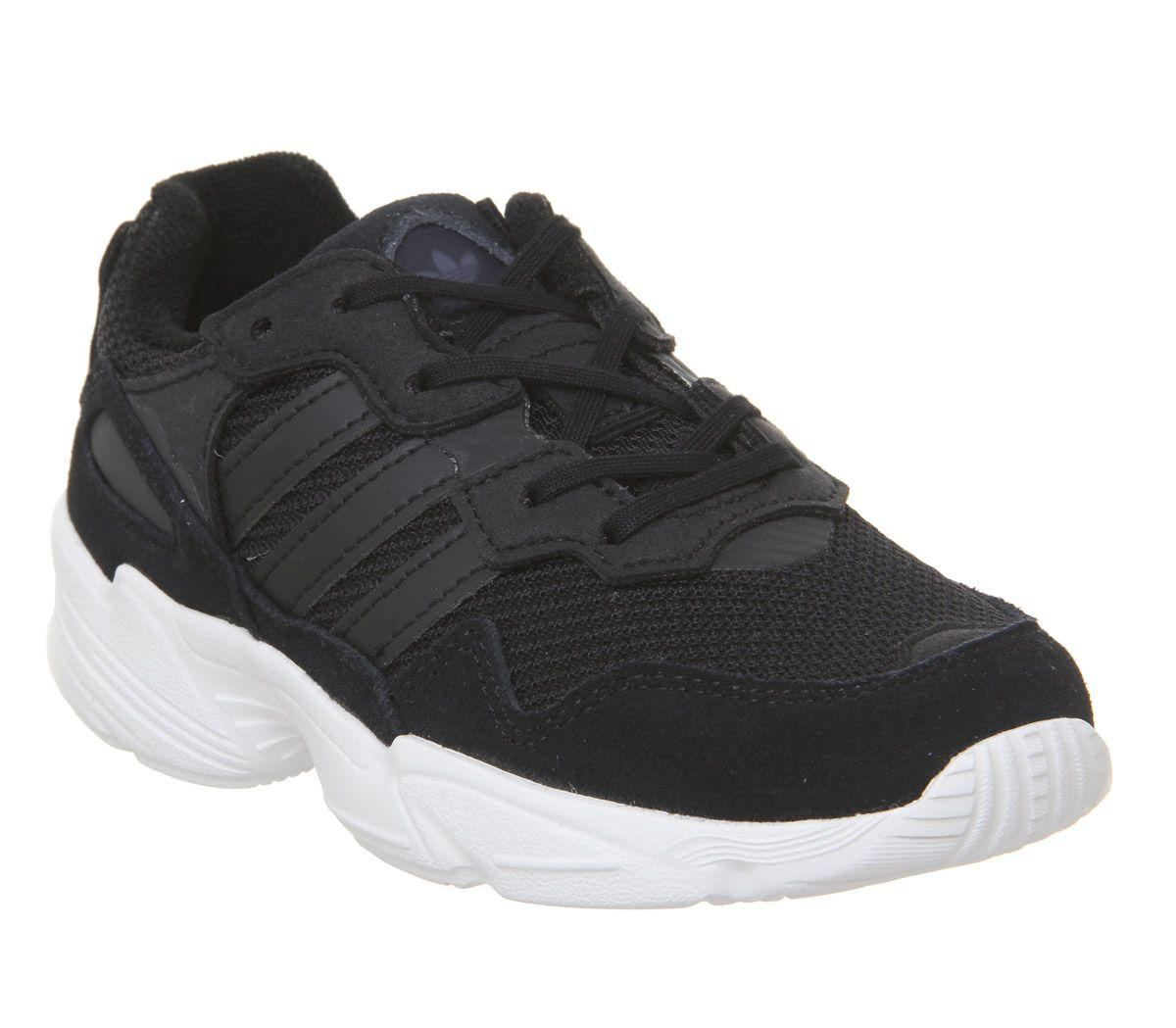 new product be7b0 176f4 adidas Yung 96 10-2 Trainers in Black for Men - Lyst