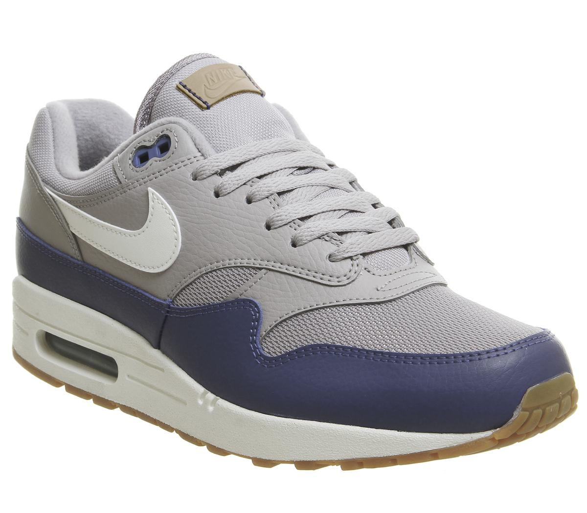 337f30dbb0aa ... ireland lyst nike air max 1 trainers in gray for men 292c7 accb7