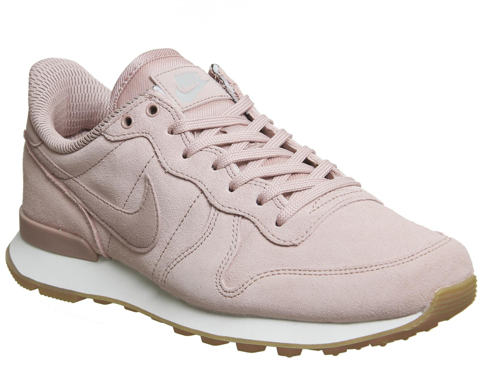 Nike. Women's Pink Internationalist Trainers