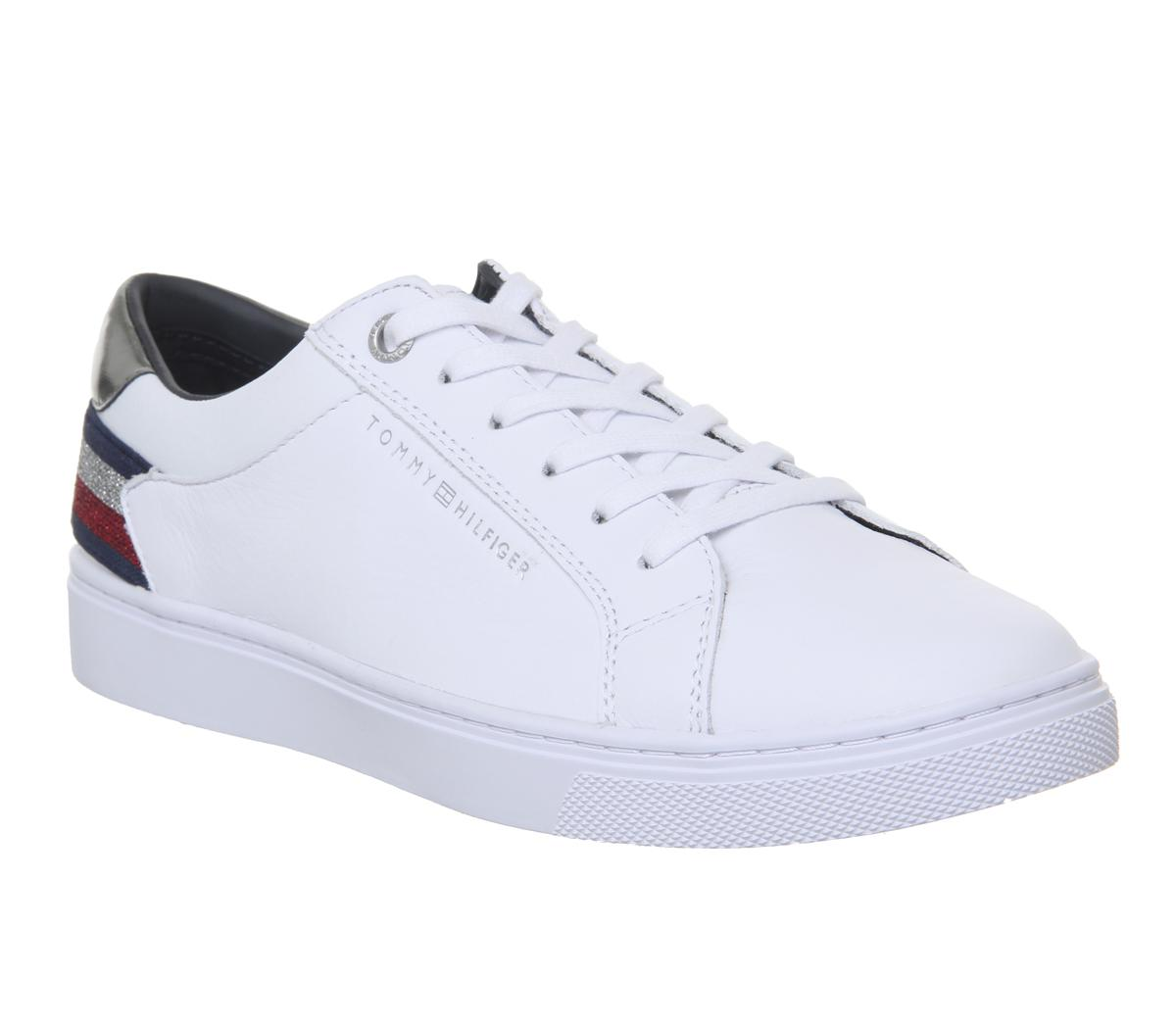 2279ce8bdb1c85 Tommy Hilfiger - White Essential Sneakers for Men - Lyst. View fullscreen