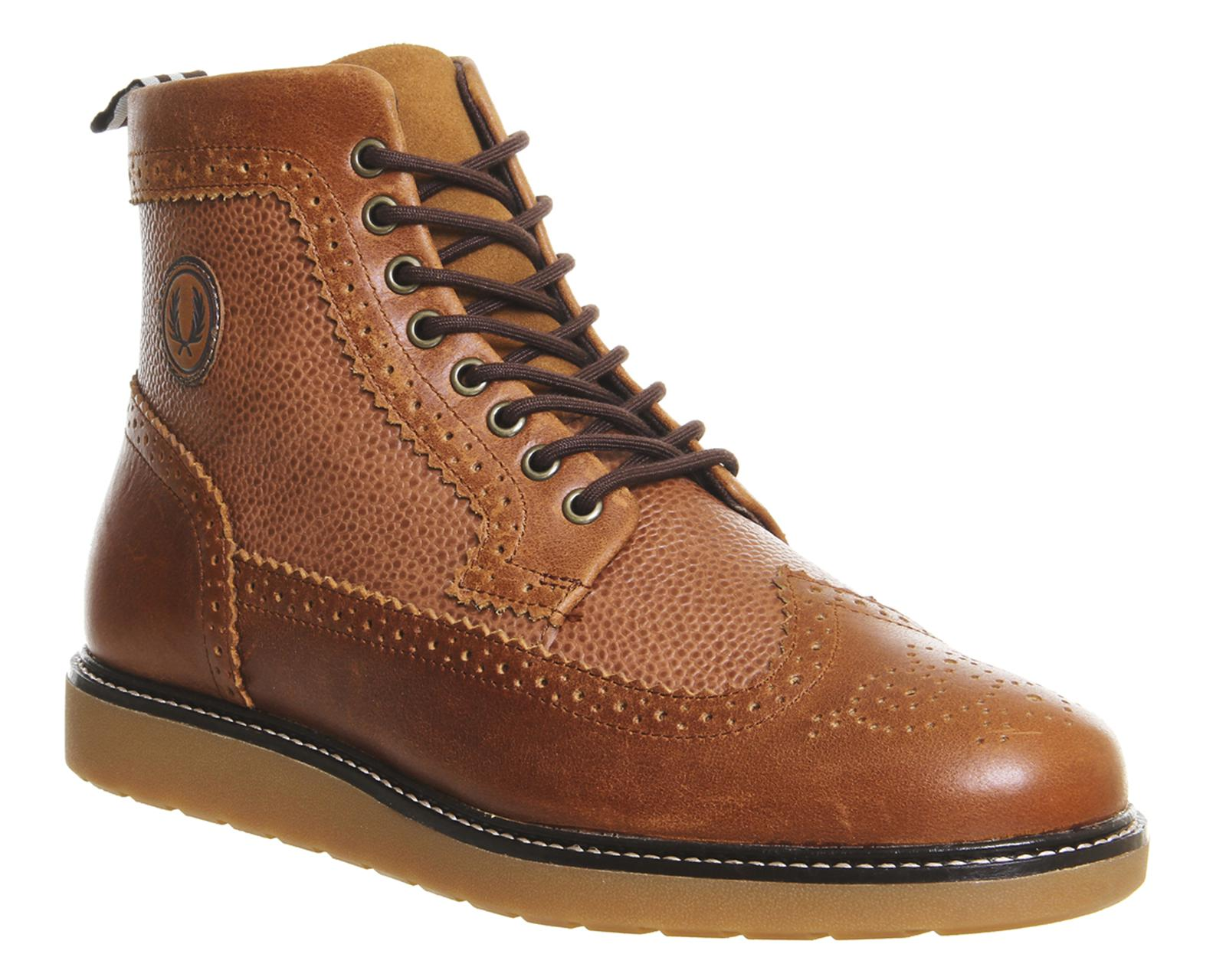 Lyst - Fred Perry Northgate Boots in Brown for Men