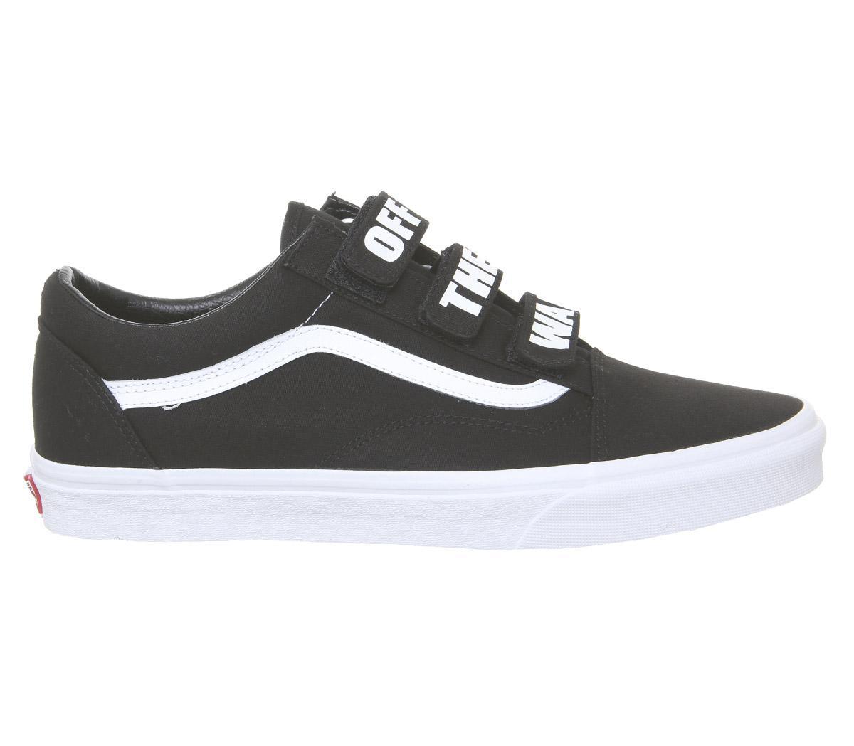 Lyst - Vans Old Skool V Trainers in Black for Men 3c09af16e