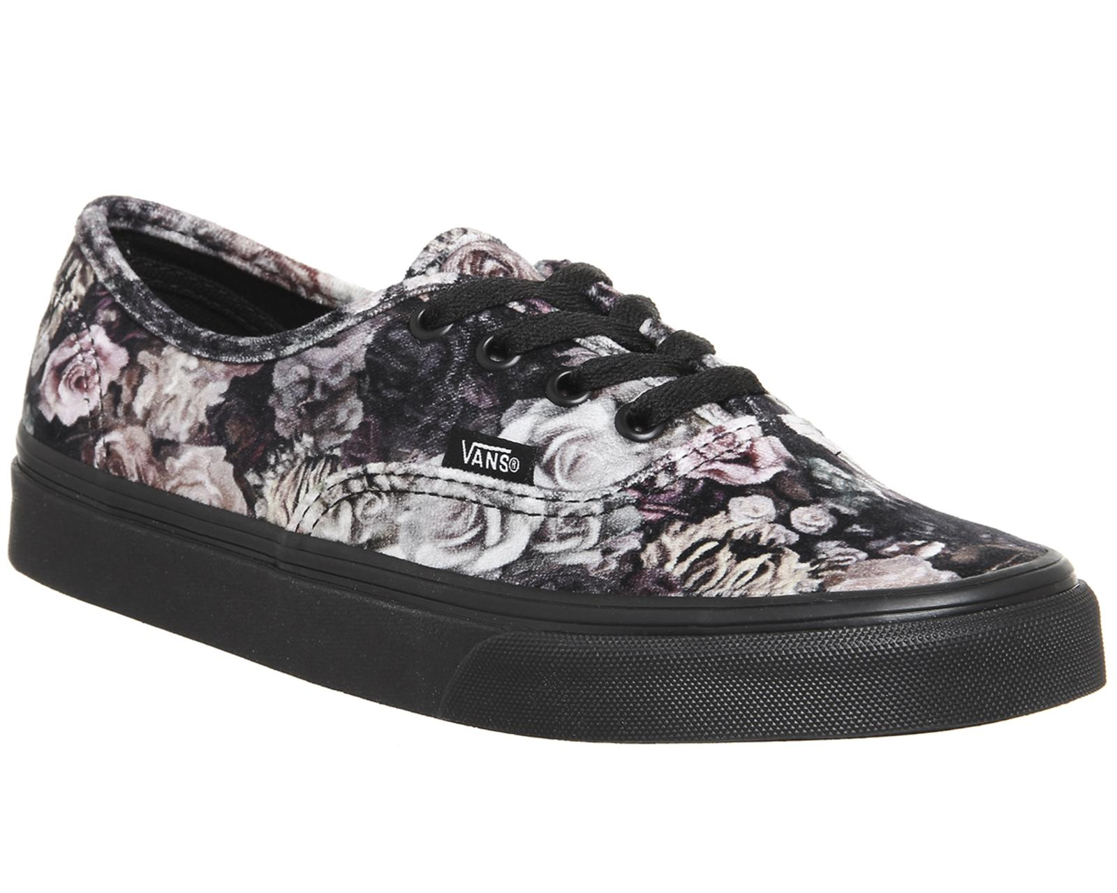 588c1b9877 Lyst - Vans Authentic Trainers in Black