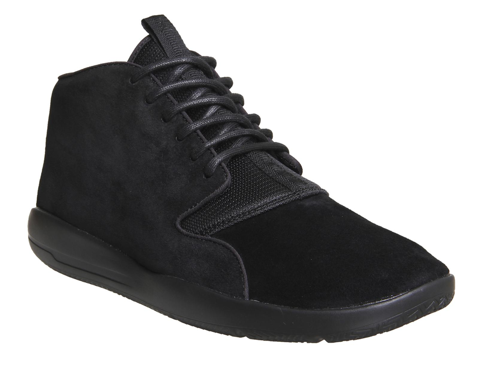 7acde7082019 Nike Jordan Eclipse Chukka Lea Trainers in Black for Men - Lyst