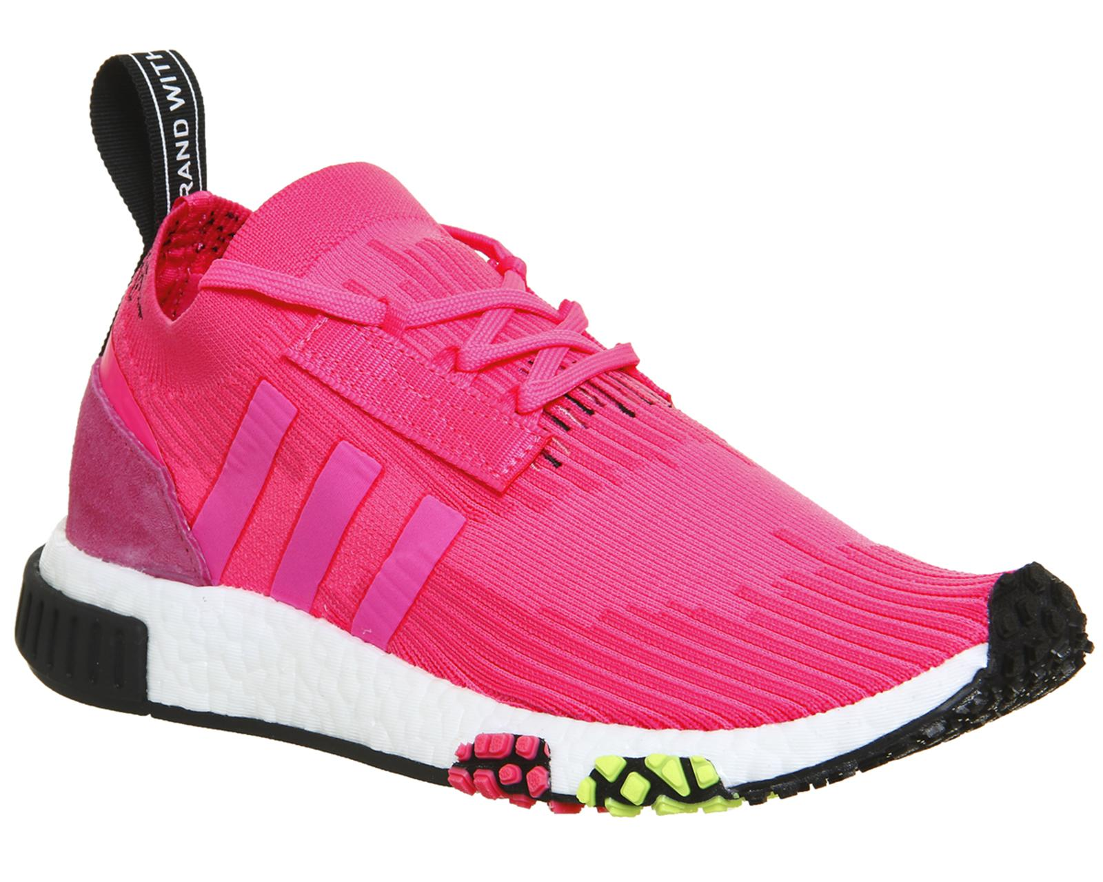 0ca442bb0a97 adidas Nmd R1 Racer Trainers in Pink - Save 52% - Lyst