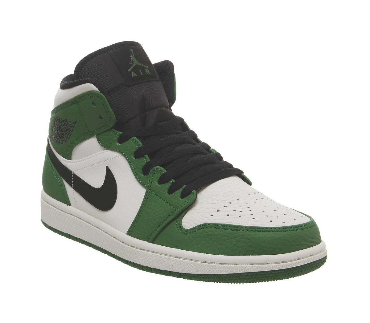 best website 92c7b 36fc2 Lyst - Nike Air 1 Mid Trainers in Green for Men