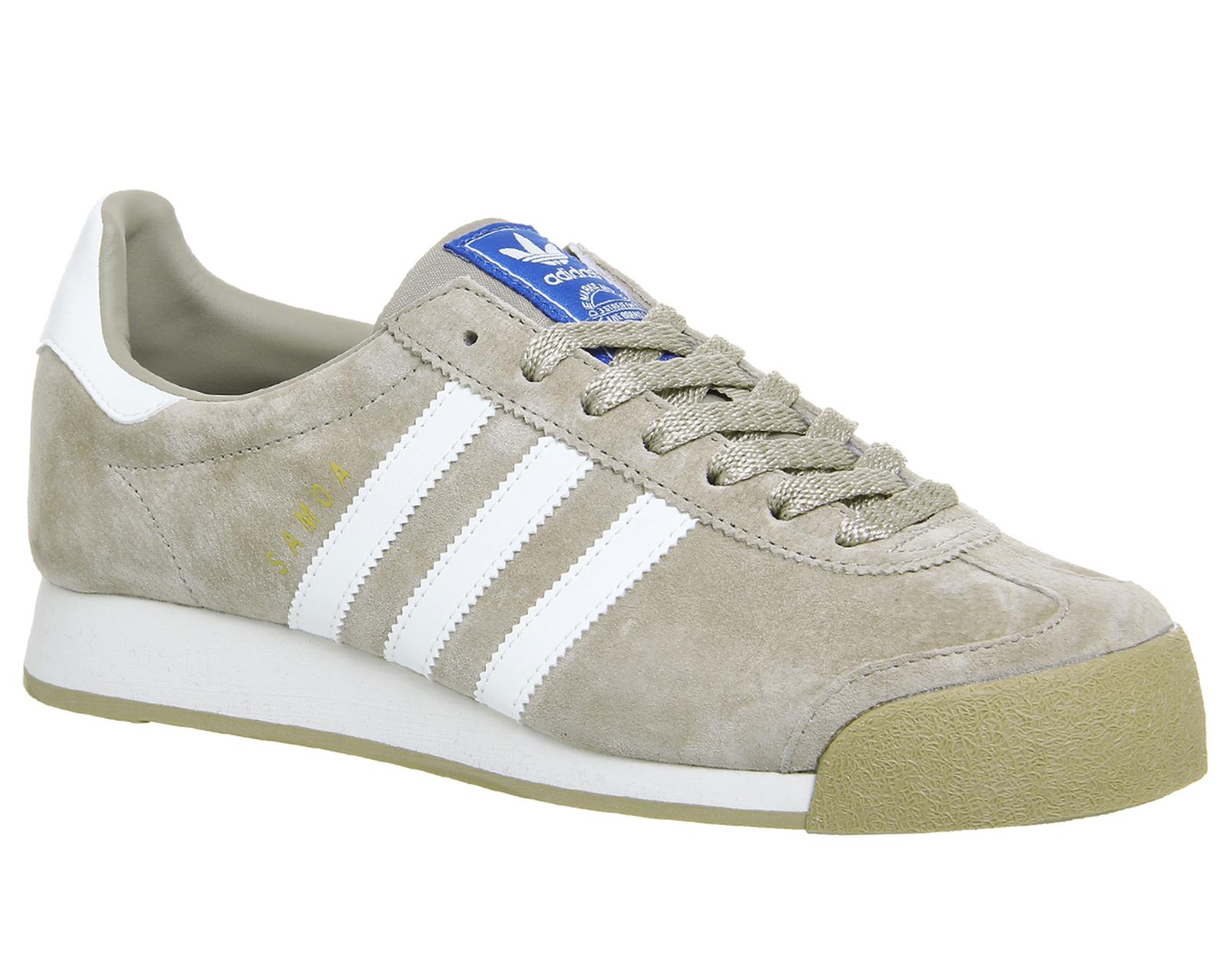 32c0c8649d62 adidas Samoa Vintage Trainers in White for Men - Lyst