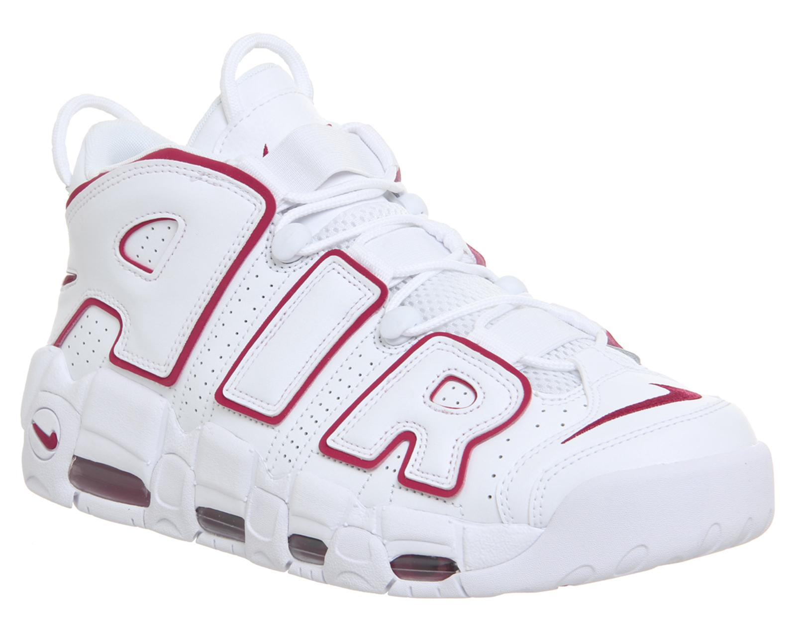 Lyst - Nike Air More Uptempo Trainers in White for Men 8645e8026