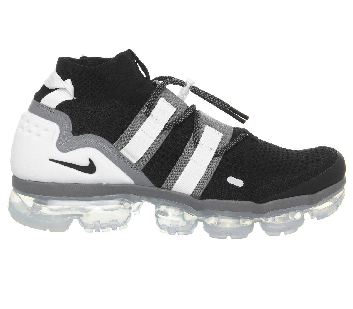 b1e1fbcb6927 Lyst - Nike Air Vapormax Flyknit Utility Trainers in Black for Men