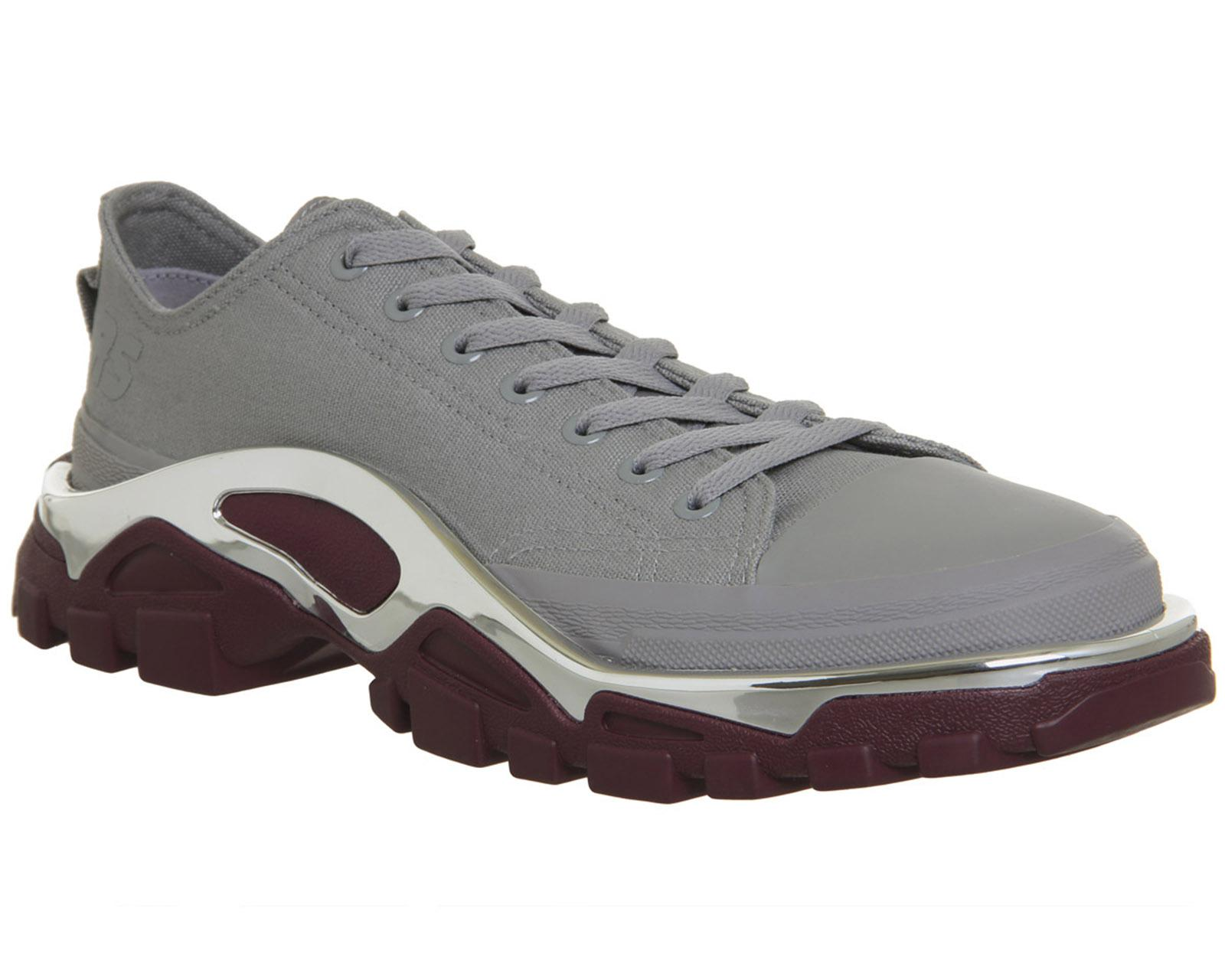 new arrival 68315 16cc4 adidas By Raf Simons. Mens Gray Detroit Runners