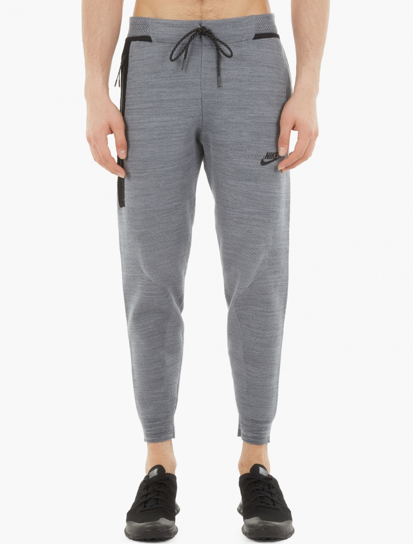 Unique Nike Tech Fleece Pant Heather Grey Sweats Sweatpants Jogger 585204 063