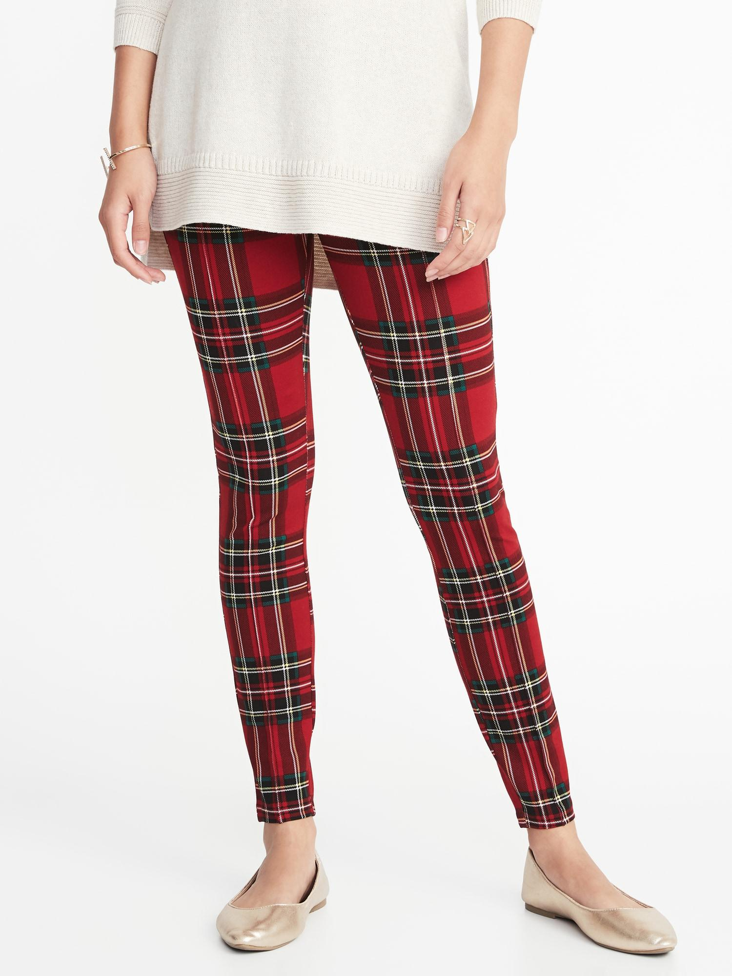 b02ef4be3ae98 Lyst - Old Navy High-rise Stevie Ponte-knit Pants in Red