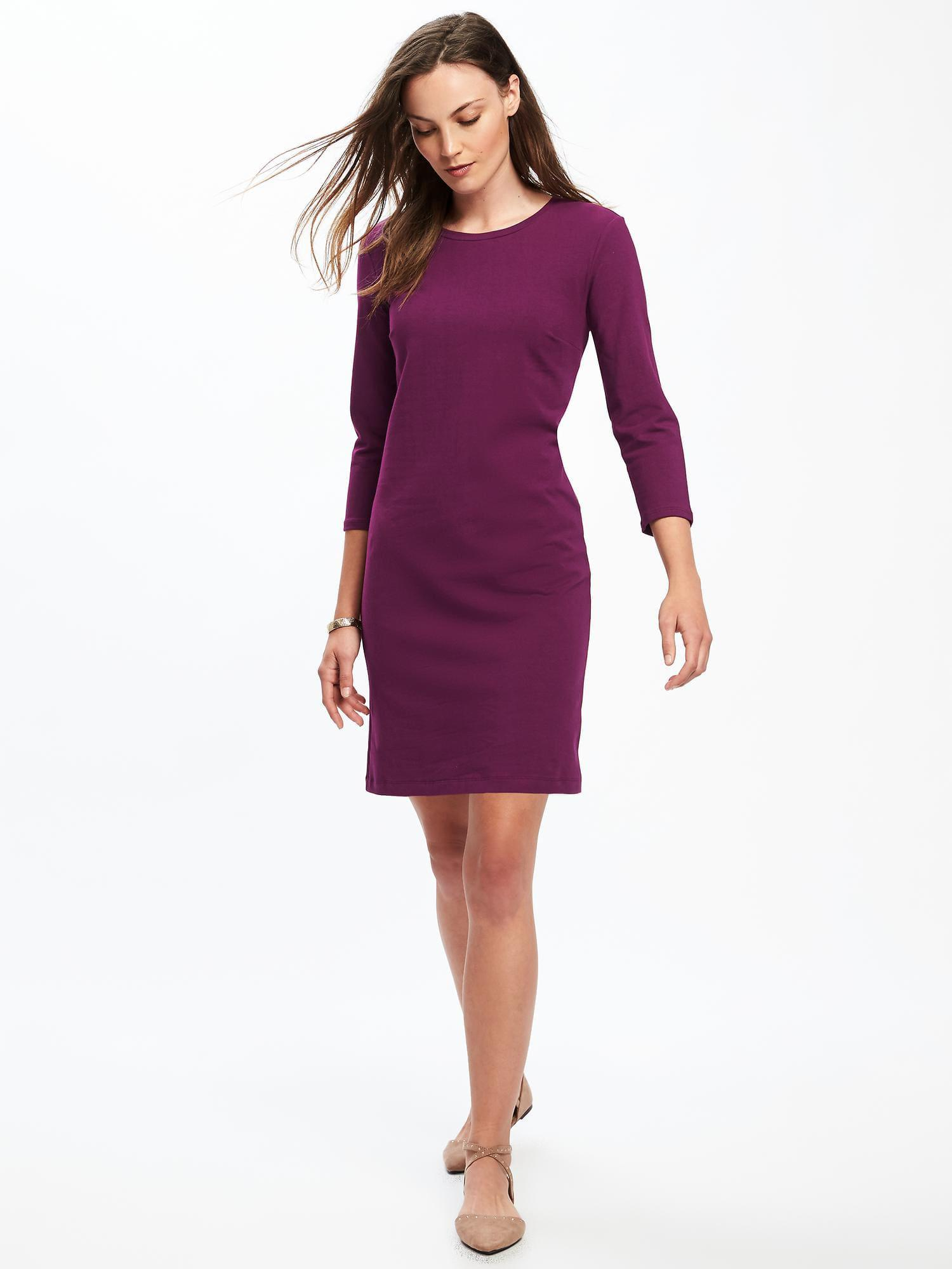 06221ba8025 Gallery. Previously sold at  Old Navy · Women s Navy Dresses Women s V Neck  ...